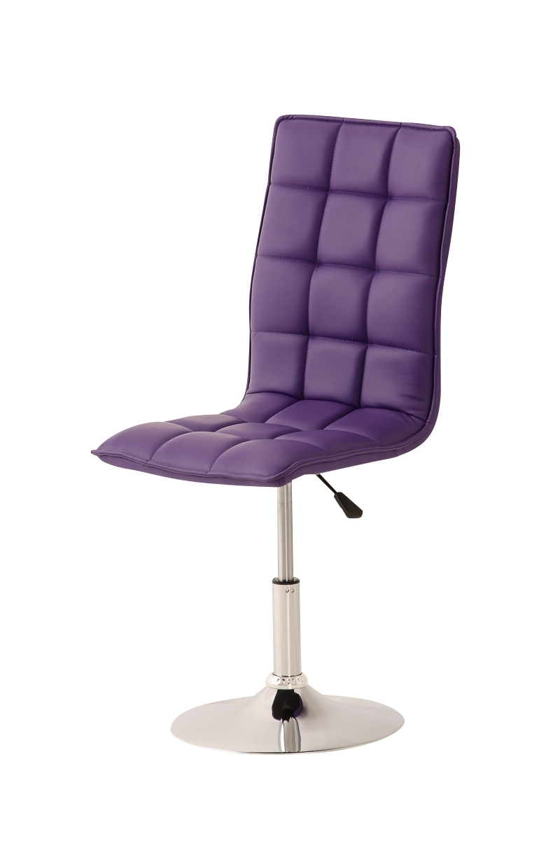 Widely Used Design Dining Chair Peking Conference Adjustable Room Faux Leather Regarding Purple Faux Leather Dining Chairs (View 24 of 25)