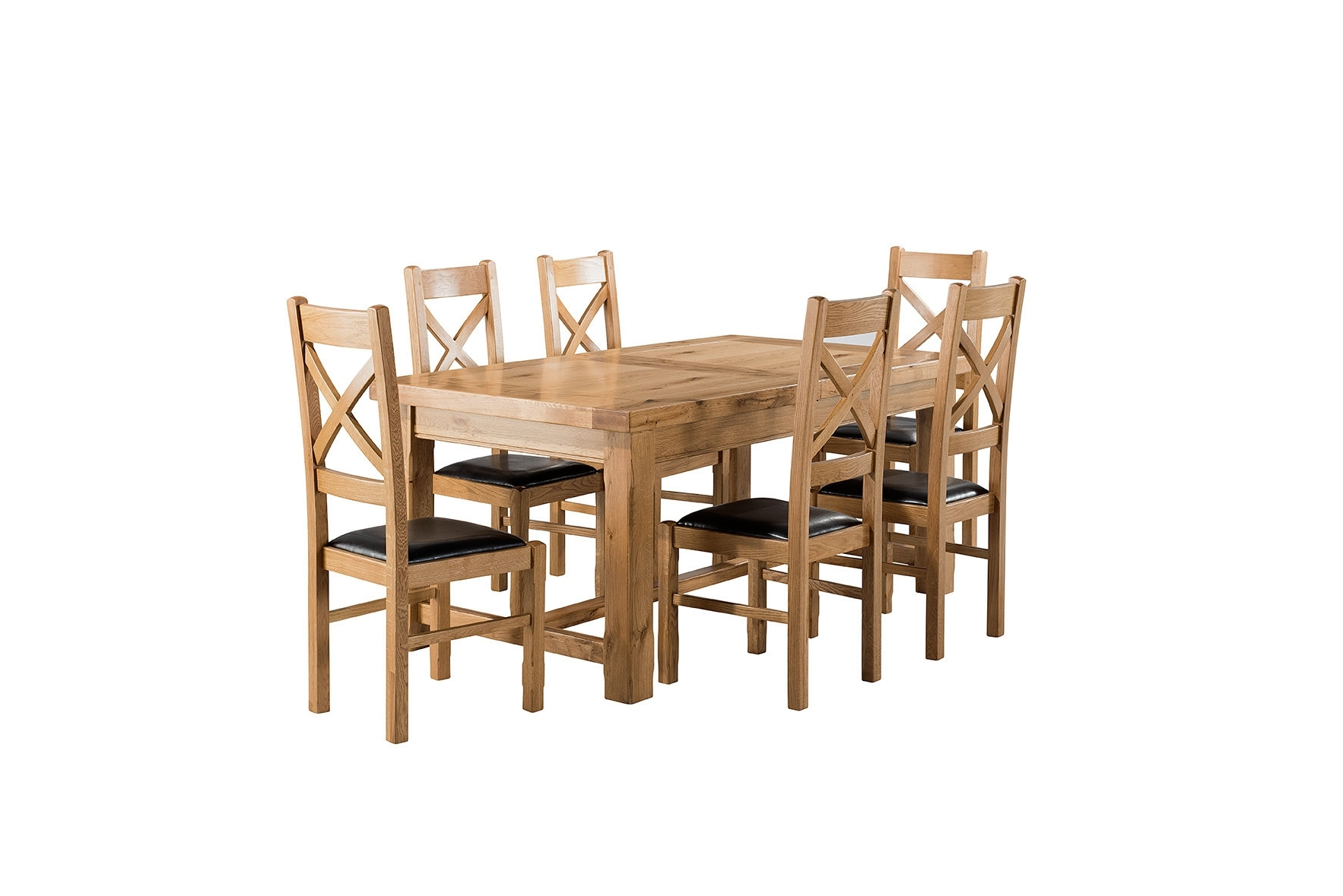 Widely Used Extending Dining Tables And 6 Chairs Regarding Brick & Barrow Canterbury Small Extending Dining Set With 6 Chairs (View 10 of 25)