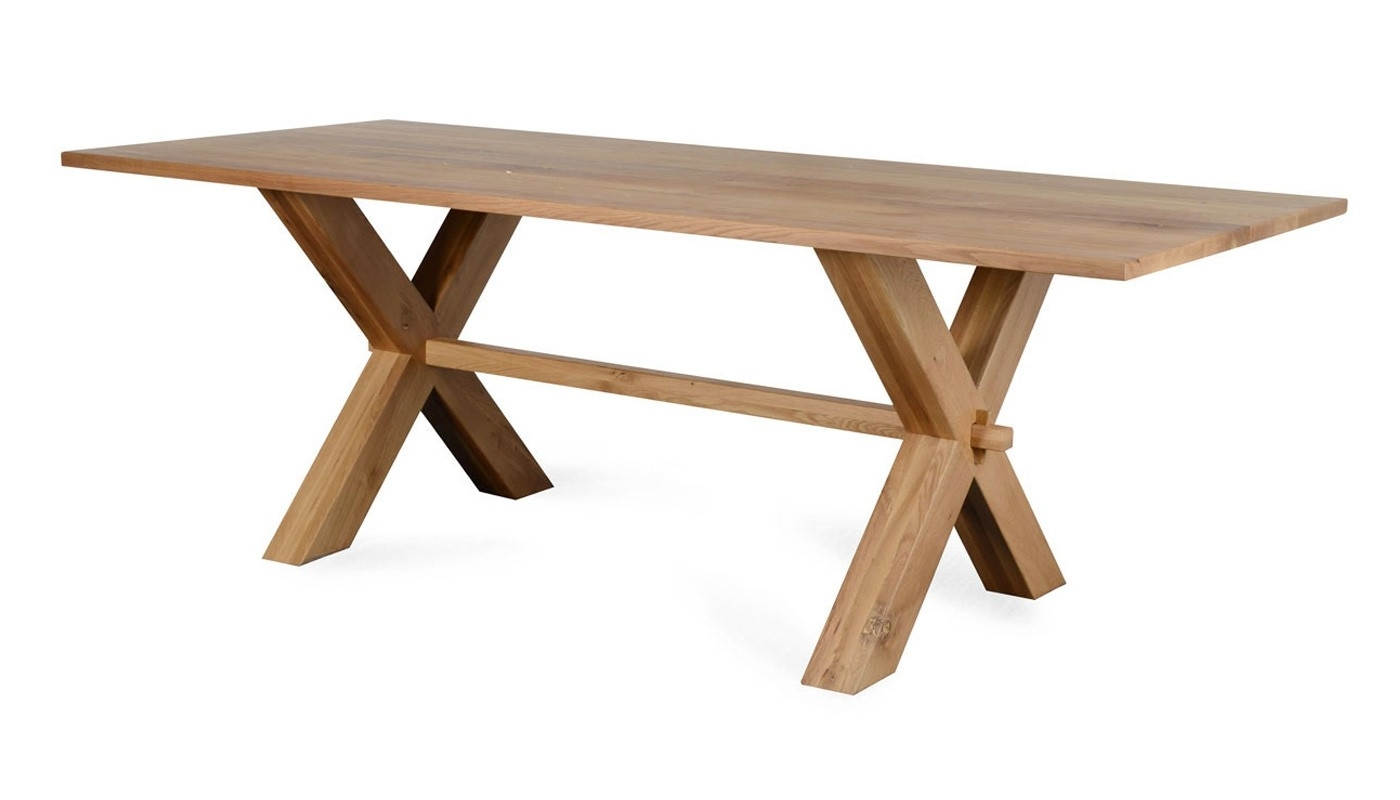 Widely Used Grange Dining Table Natural Oak – Discontinued For Oak Dining Furniture (View 18 of 25)