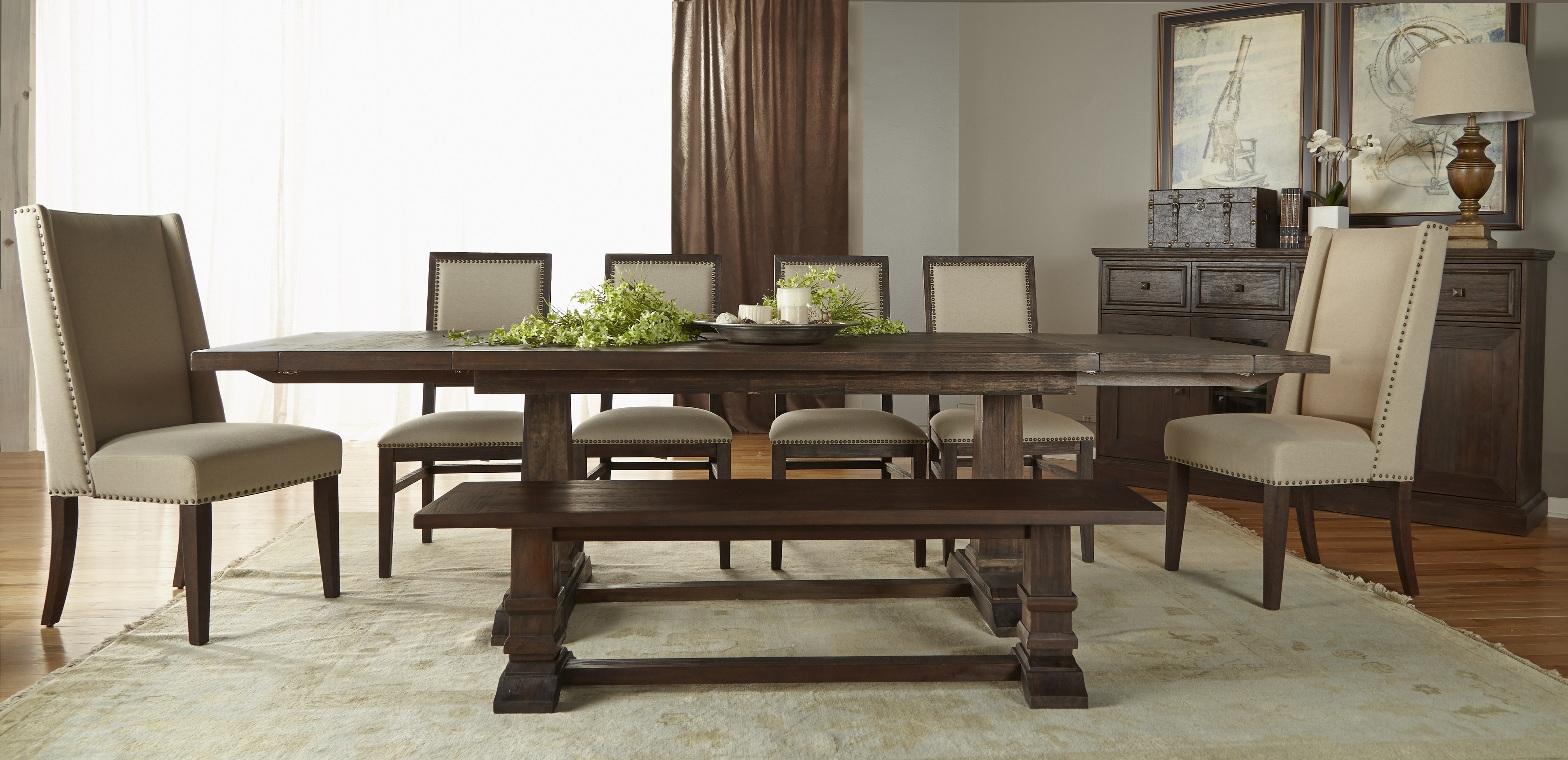 Widely Used Hudson Rectangle Extension Dining Table In Java Dining Tables (View 19 of 25)