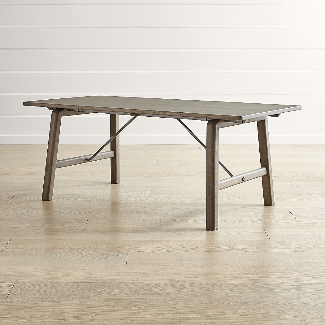 Widely Used Jaxon Extension Rectangle Dining Tables Throughout Jaxon Extension Rectangle Dining Table (View 25 of 25)