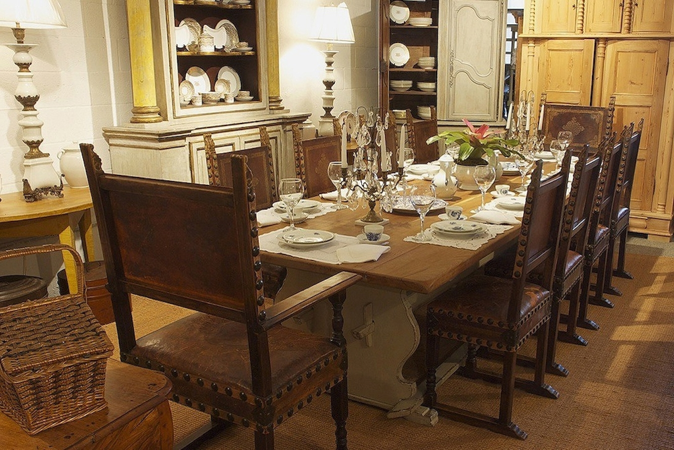 Widely Used Long Gustavian Style Farm House Dining Table With Trestle Base For Barn House Dining Tables (View 21 of 25)