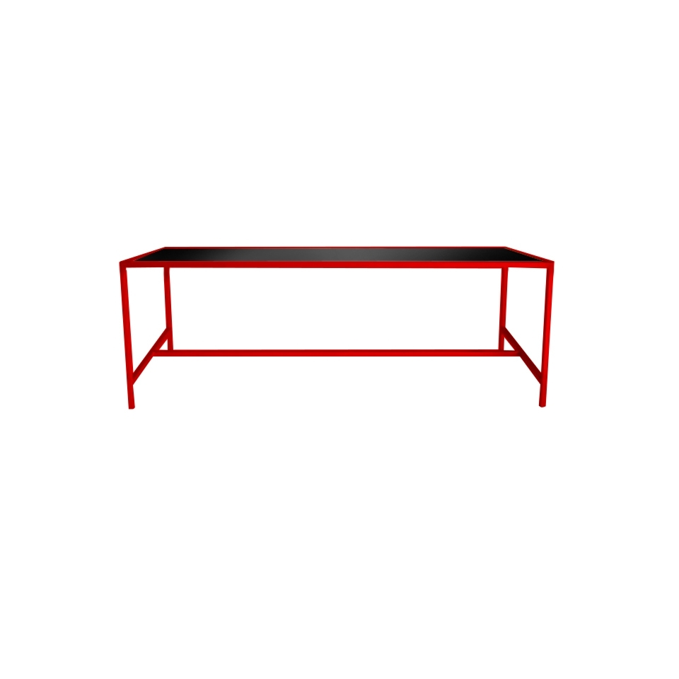 Widely Used Metro Dining Table Red – Lux Lounge Efr (888) 247 4411 In Metro Dining Tables (View 25 of 25)