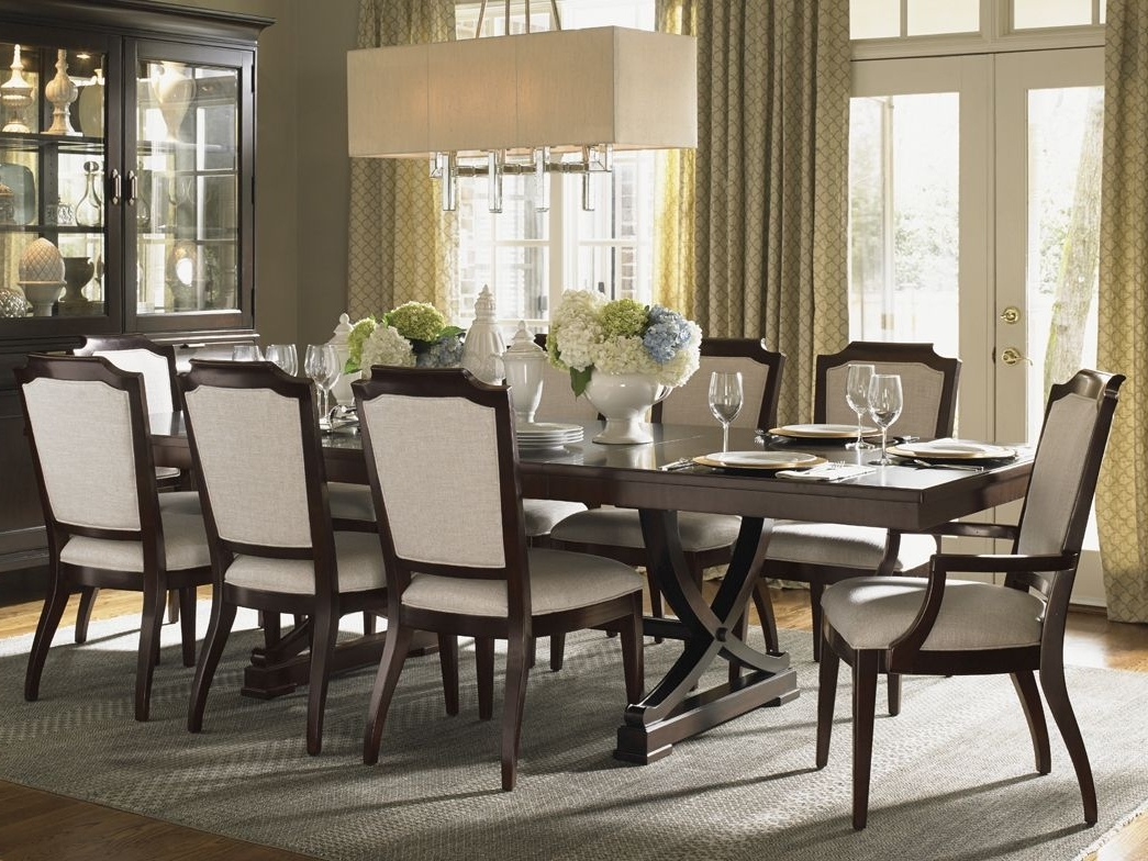 """Widely Used Norwood 7 Piece Rectangular Extension Dining Sets With Bench, Host & Side Chairs Pertaining To Kensington Place"""" Collection, Westwood Rectangular Dining Table With (View 5 of 25)"""