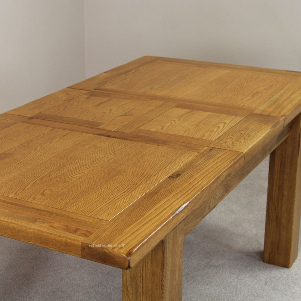 Widely Used Oak Extending Dining Sets Pertaining To Oak Dining Table: Get The Best One Today – Darbylanefurniture (View 15 of 25)