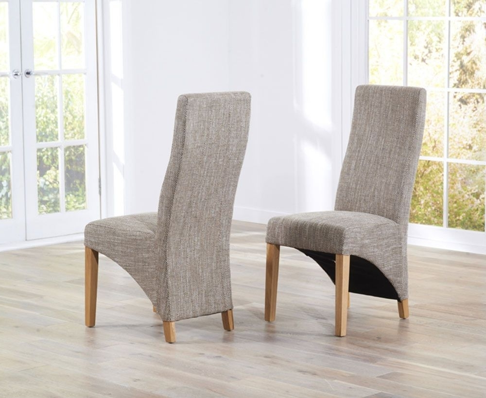 Widely Used Oak Fabric Dining Chairs Pertaining To 99+ Oak Fabric Dining Chairs – Vintage Modern Furniture Check More (View 25 of 25)