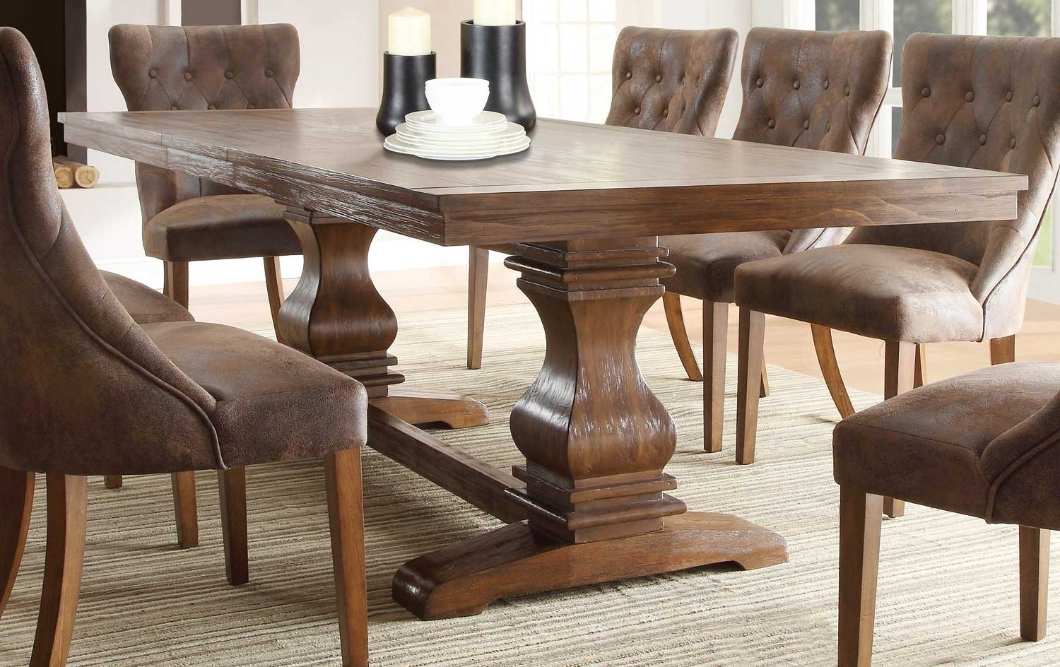 Widely Used Oval Reclaimed Wood Dining Tables With Dining Chairs Cozy Rustic Modern Dining Chairs Images Upholstery (View 23 of 25)