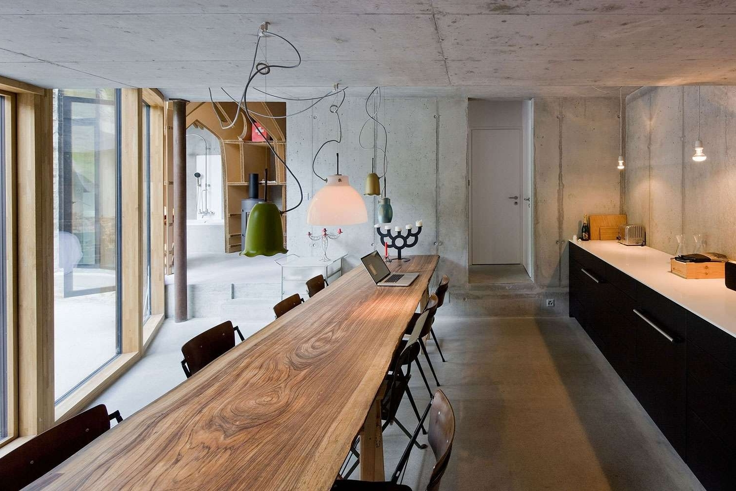 Widely Used Thin Long Dining Tables In  (View 25 of 25)