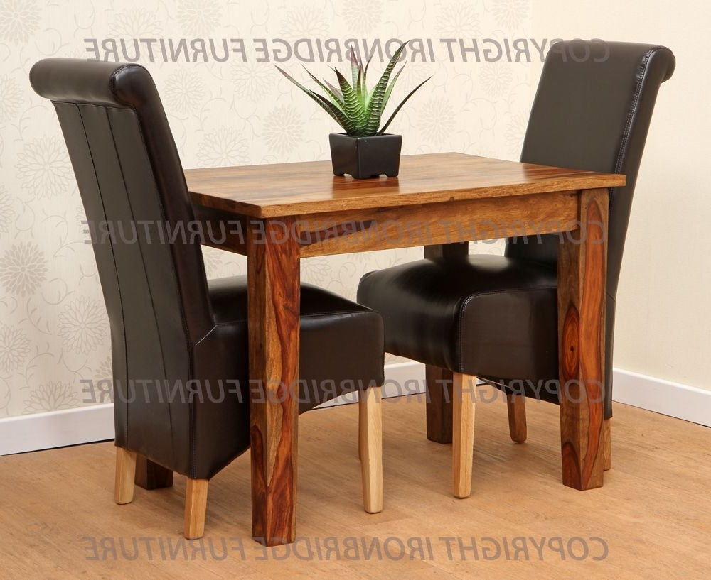 Widely Used Two Person Dining Table Sets With Two Seat Table Set • Table Setting Ideas (View 2 of 25)