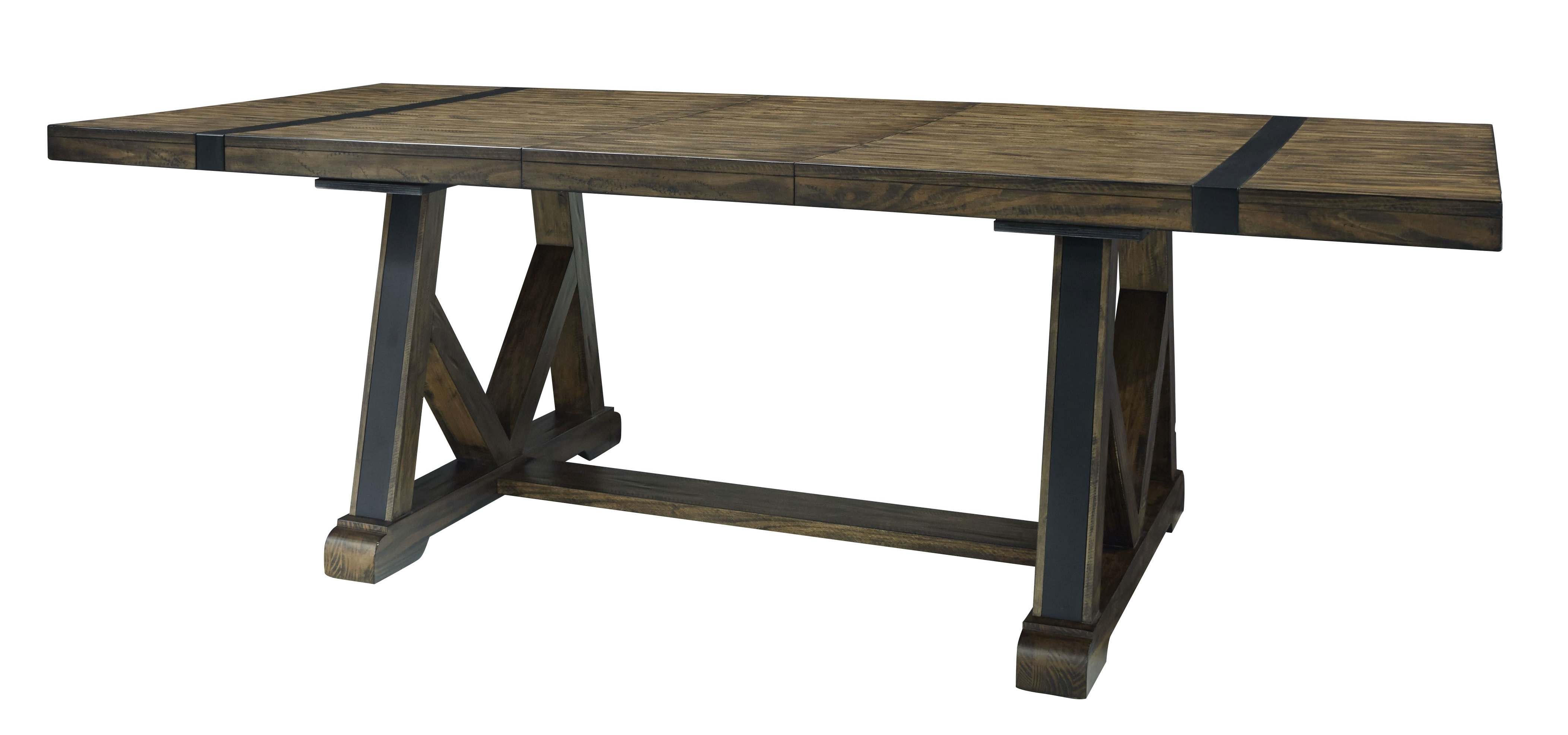 Williston Forge Leandra Trestle Extendable Dining Table (View 25 of 25)