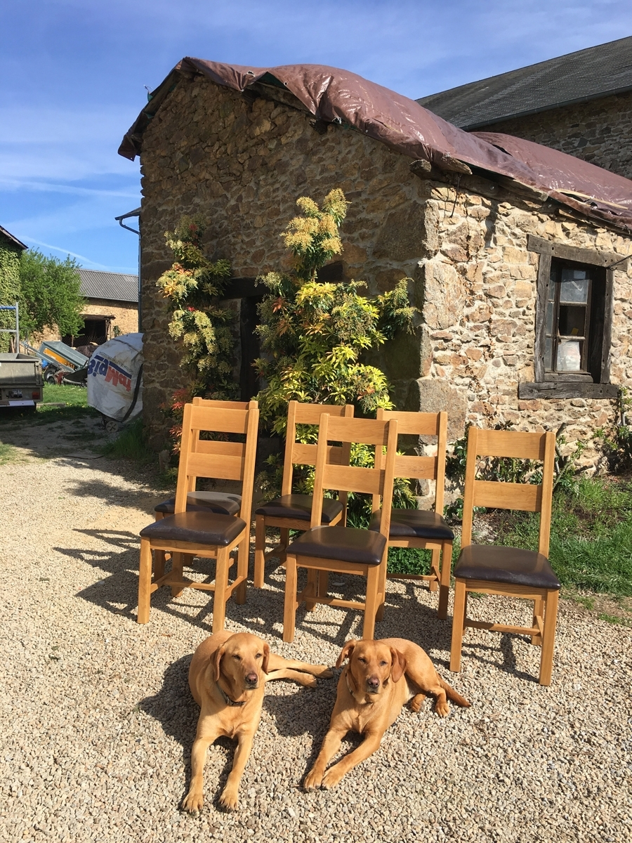 With Regard To Second Hand Oak Dining Chairs (View 24 of 25)