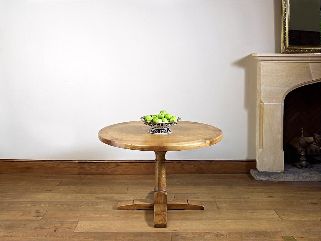 Wood Bros Chatsworth Round Dining Table Inside Widely Used Chatsworth Dining Tables (View 25 of 25)