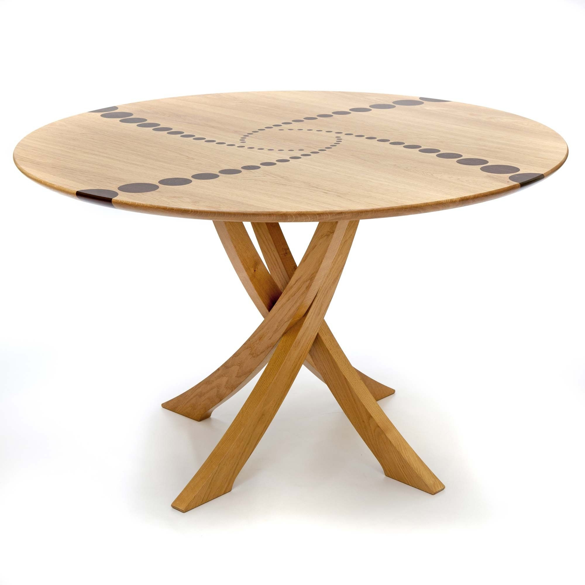 Wood Desk And Within 2017 Large Circular Dining Tables (View 19 of 25)