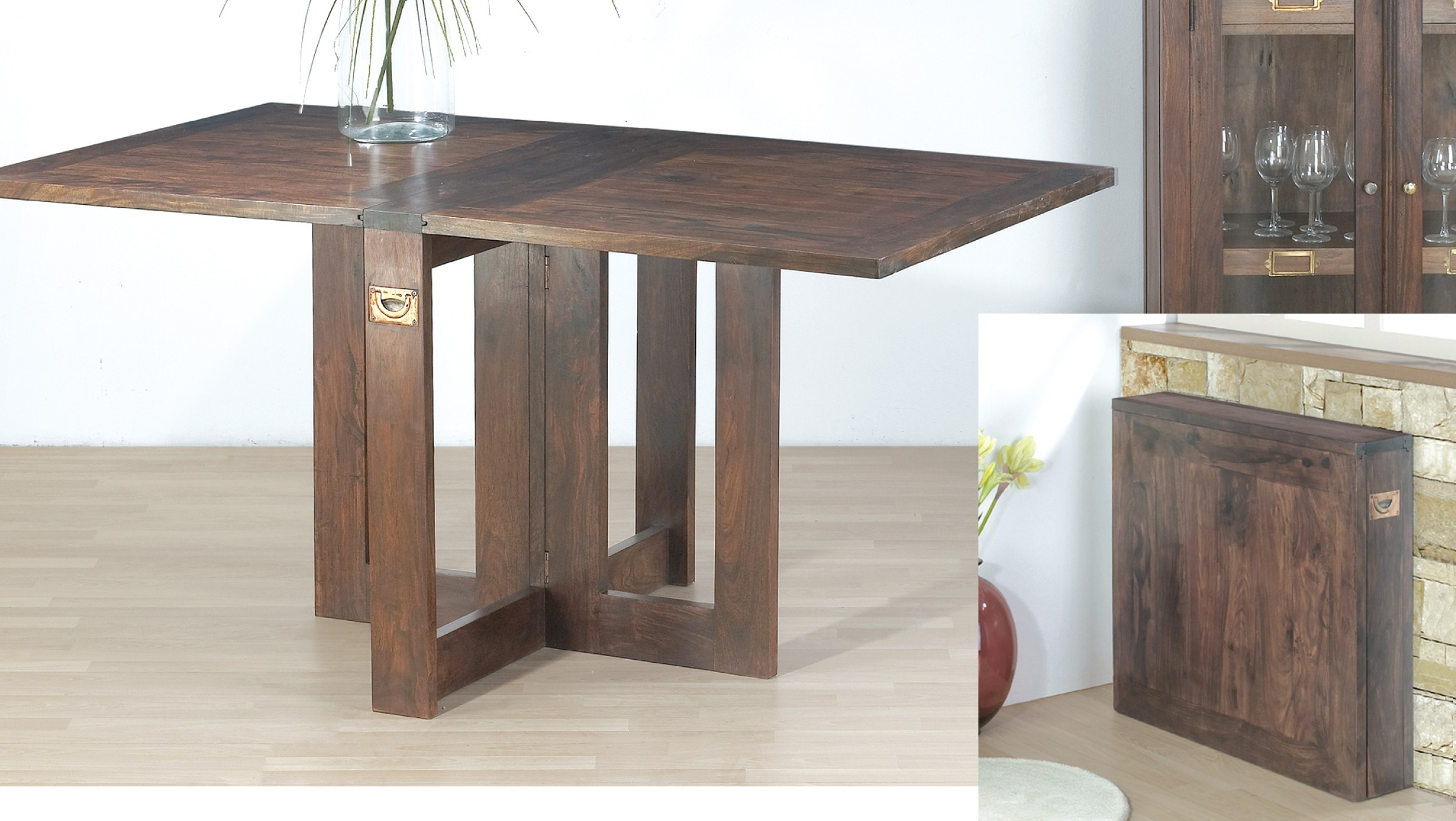Wood Folding Dining Table • Folding Table Design Within Most Popular Wood Folding Dining Tables (View 9 of 25)