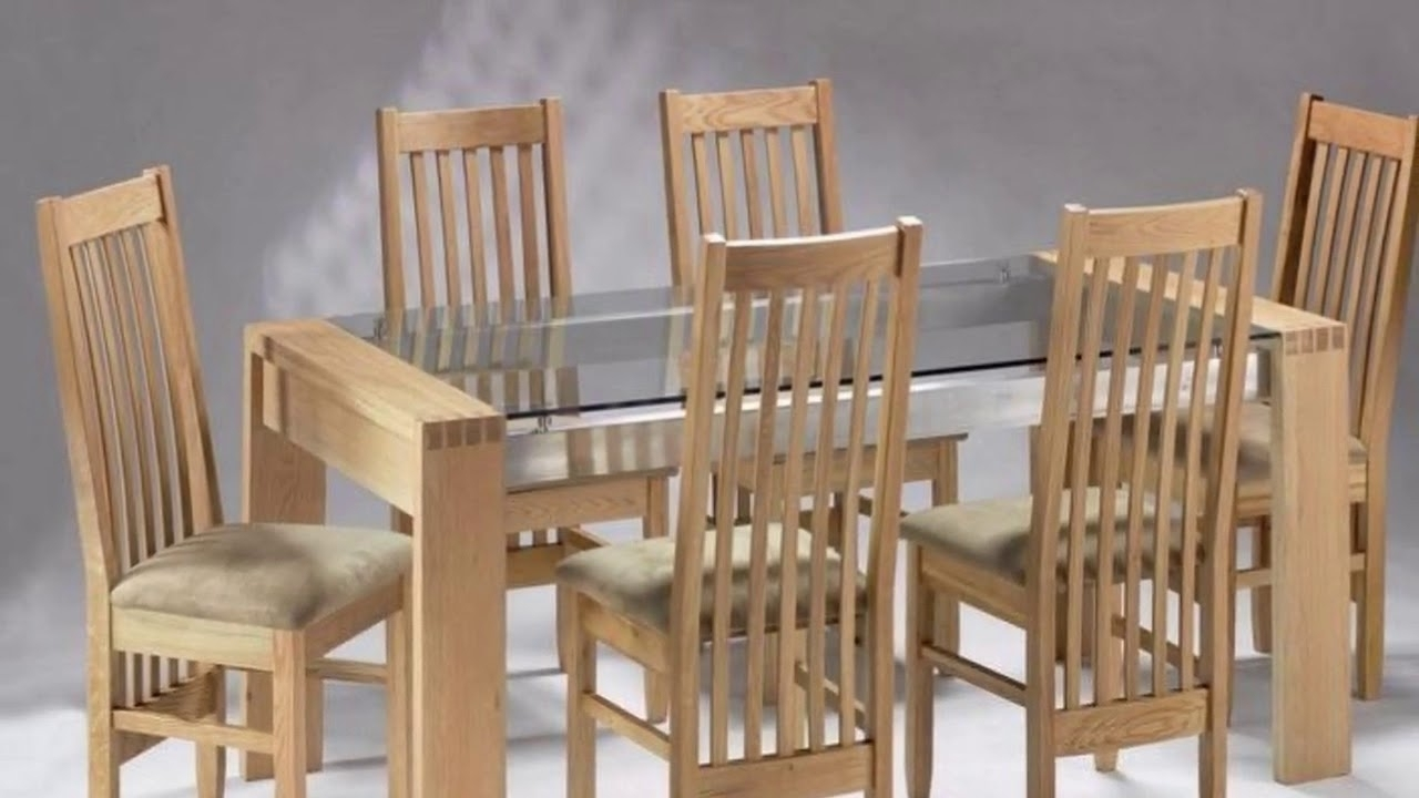 Wood Glass Dining Tables In Well Liked Modern Dining Table Wood And Glass Design – Youtube (View 4 of 25)