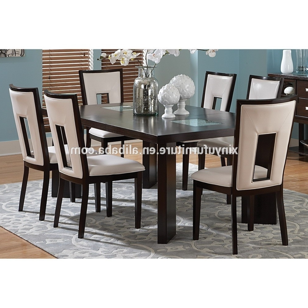 Wooden Dining Sets Inside Fashionable Modern Wooden Dining Table And Chair Set – Buy Modern Furniture (View 23 of 25)