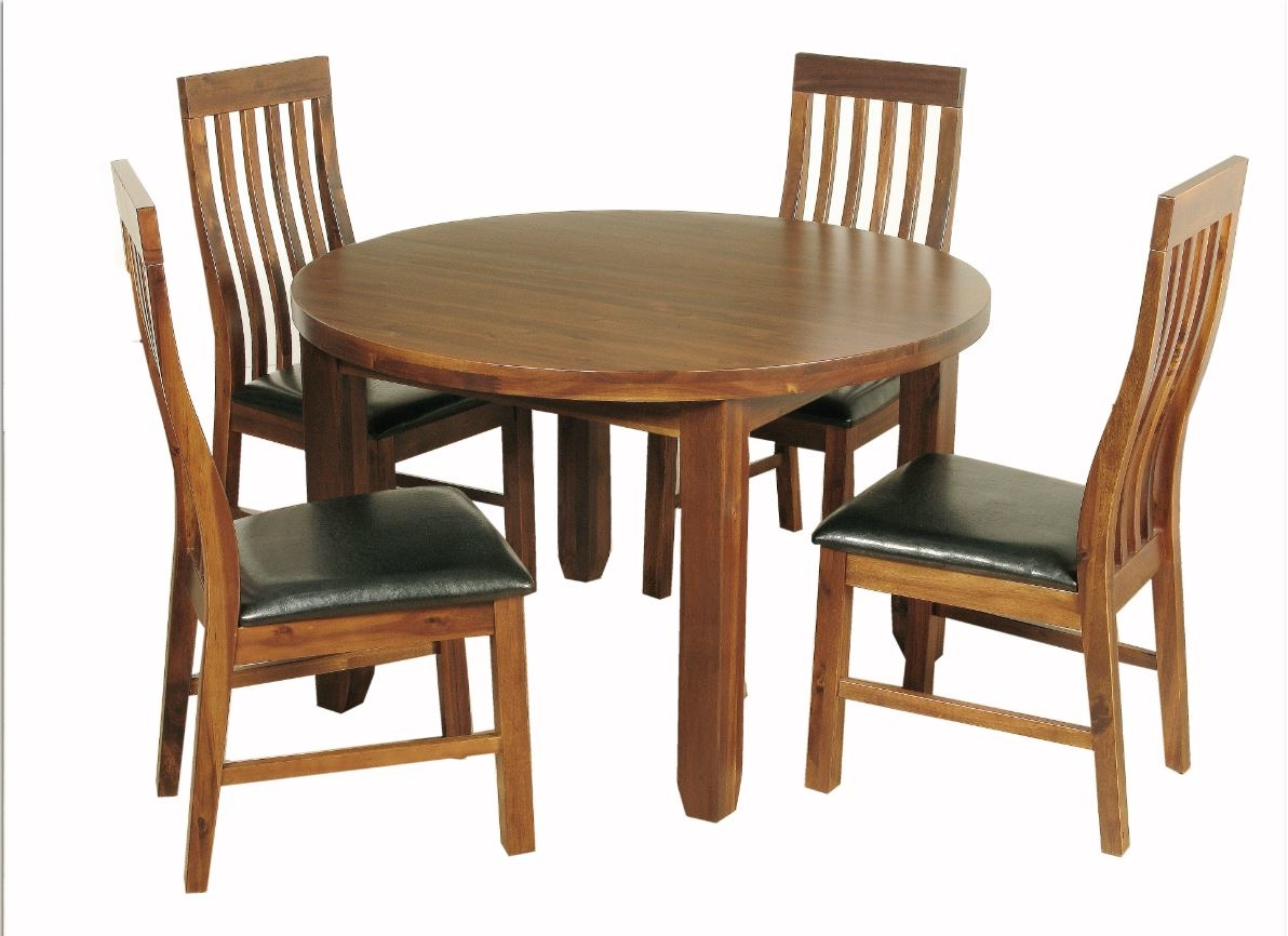 Wooden Dining Sets Within Famous Wood Dining Tables (View 25 of 25)