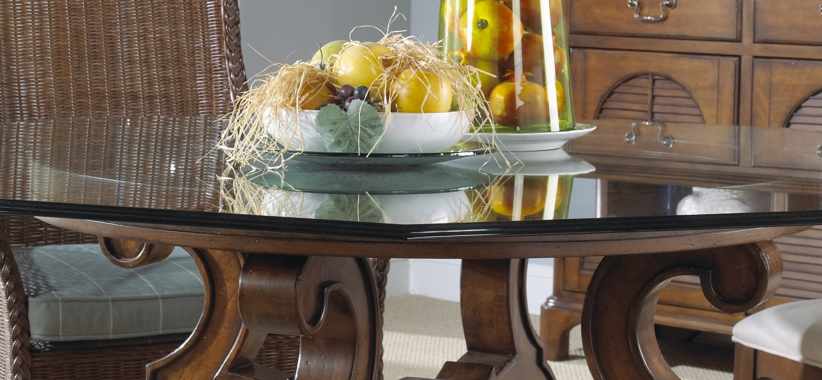 Wooden Glass Dining Tables With Regard To Newest Furniture (View 25 of 25)