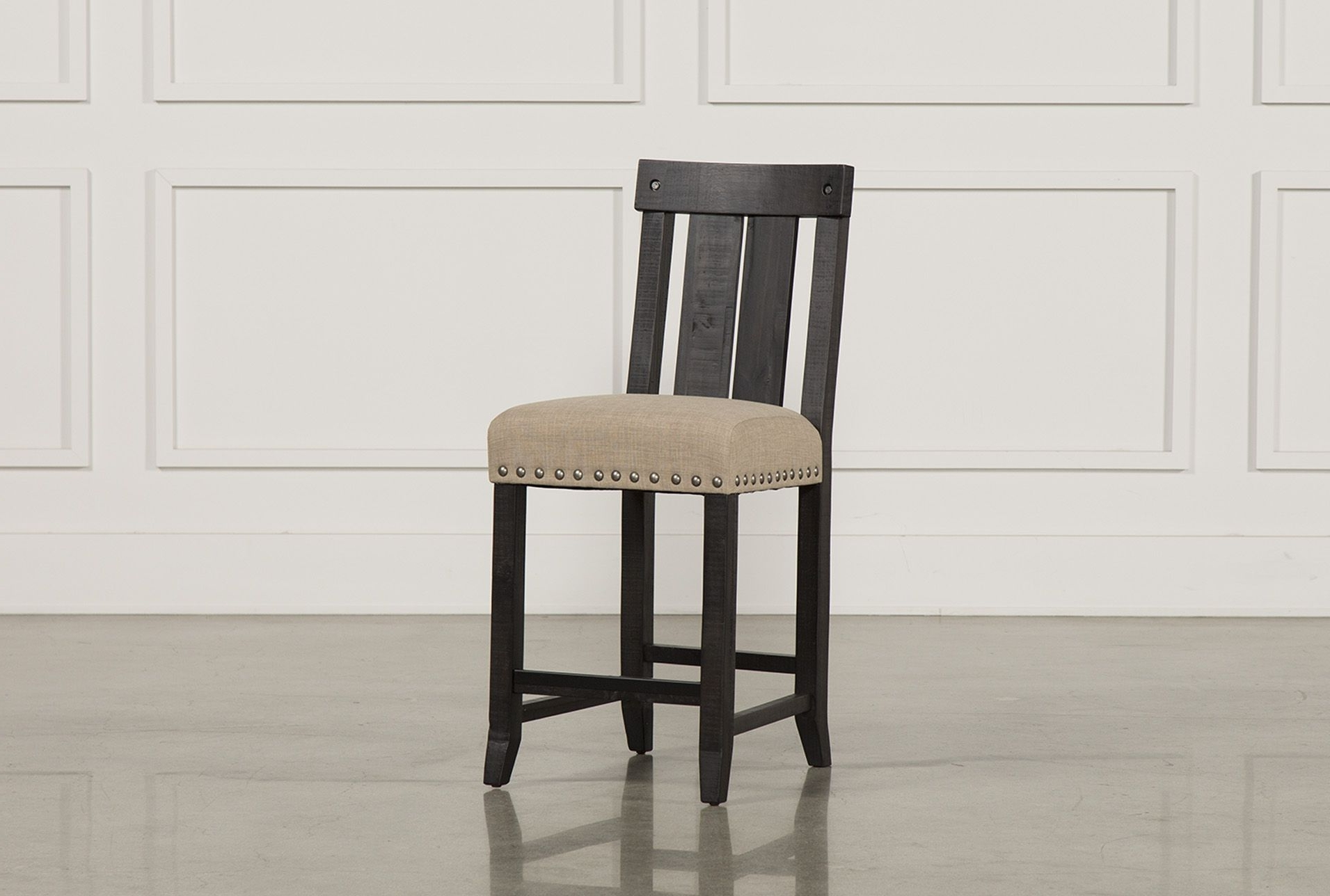 Woods And Products Intended For Trendy Jaxon Grey 5 Piece Extension Counter Sets With Wood Stools (View 25 of 25)