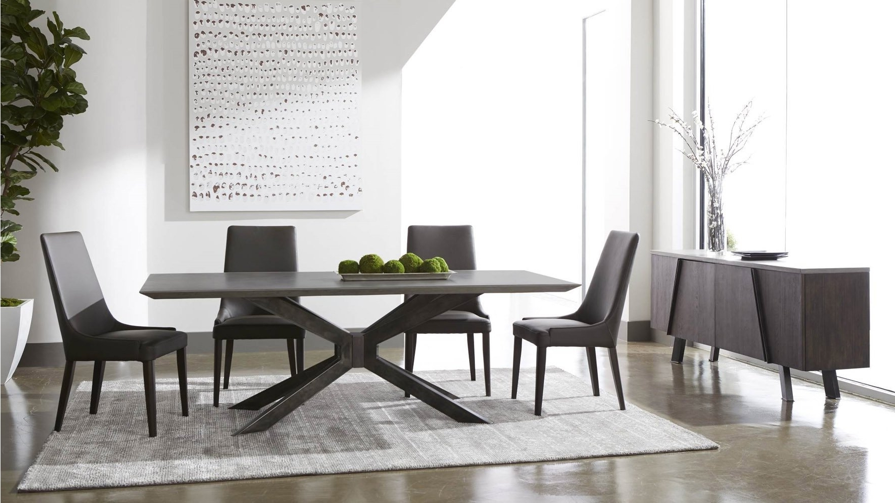 Zuri Furniture In 87 Inch Dining Tables (View 17 of 25)