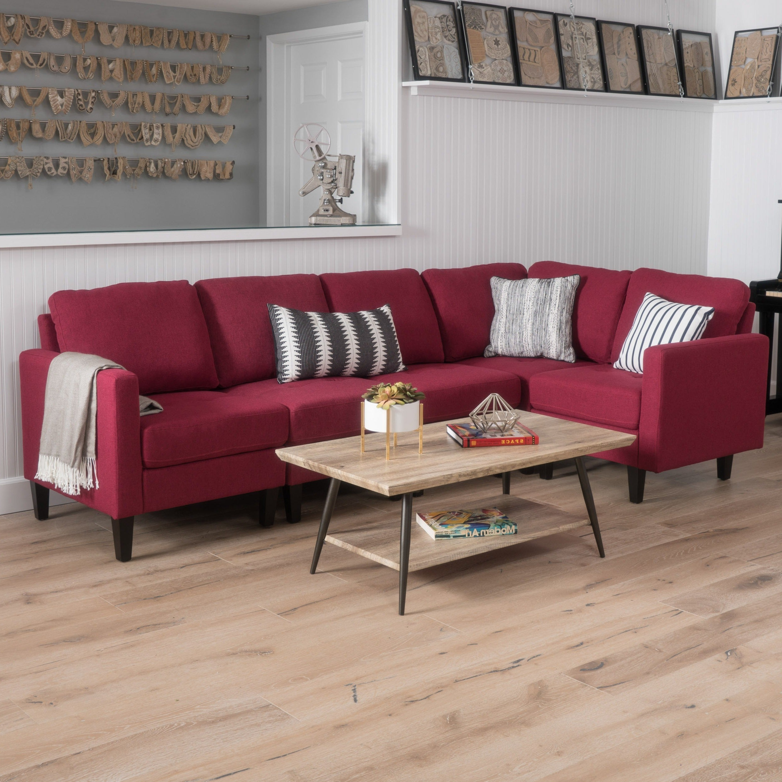 2019 Aria 5 Piece Dining Sets Throughout Shop Zahra 5 Piece Fabric Sofa Sectionalchristopher Knight Home (View 19 of 25)
