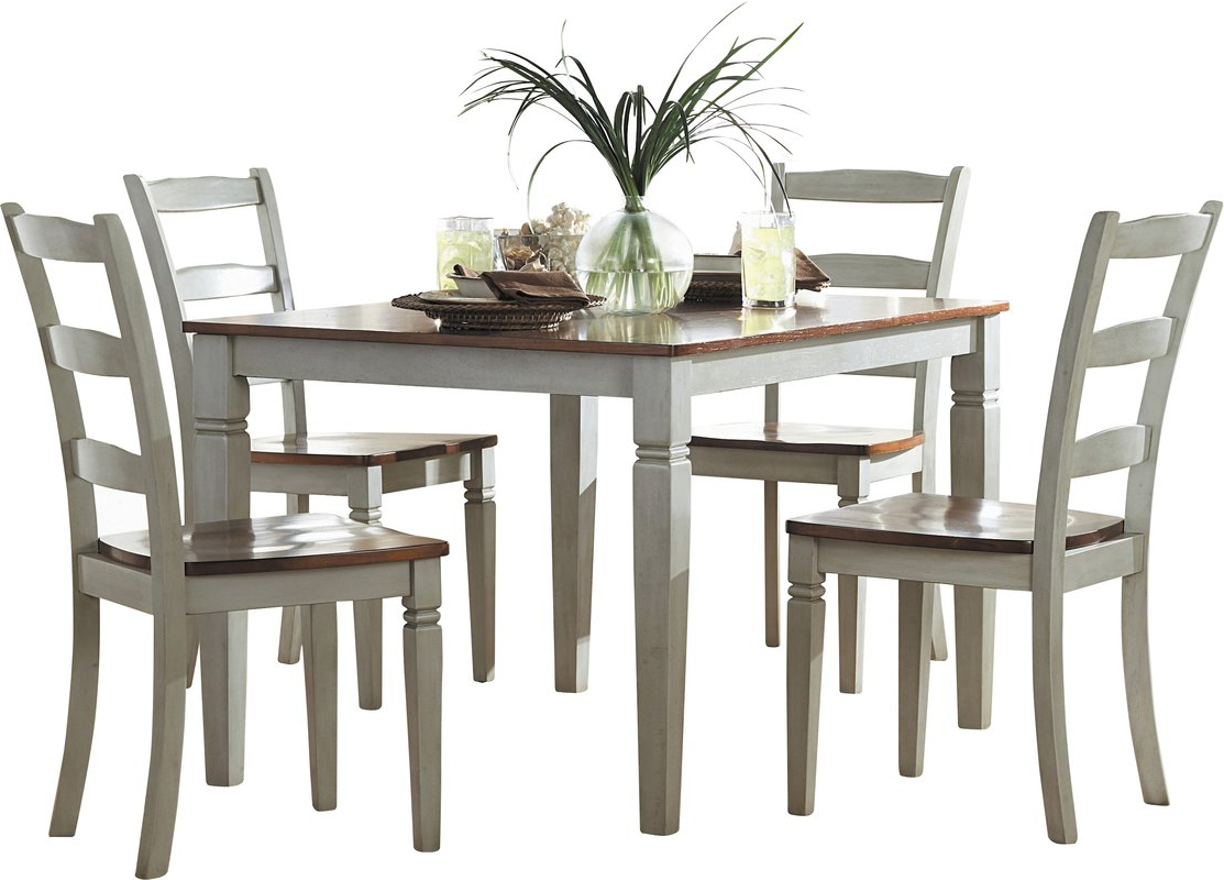 2019 Falmer 3 Piece Solid Wood Dining Sets Inside Cottage & Country Kitchen & Dining Room Sets You'll Love (View 10 of 25)