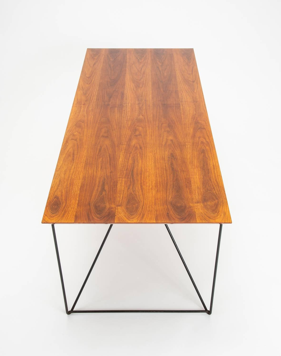 2019 Luther Conover Table With Custom Painted Walnut Top At 1Stdibs inside Conover 5 Piece Dining Sets