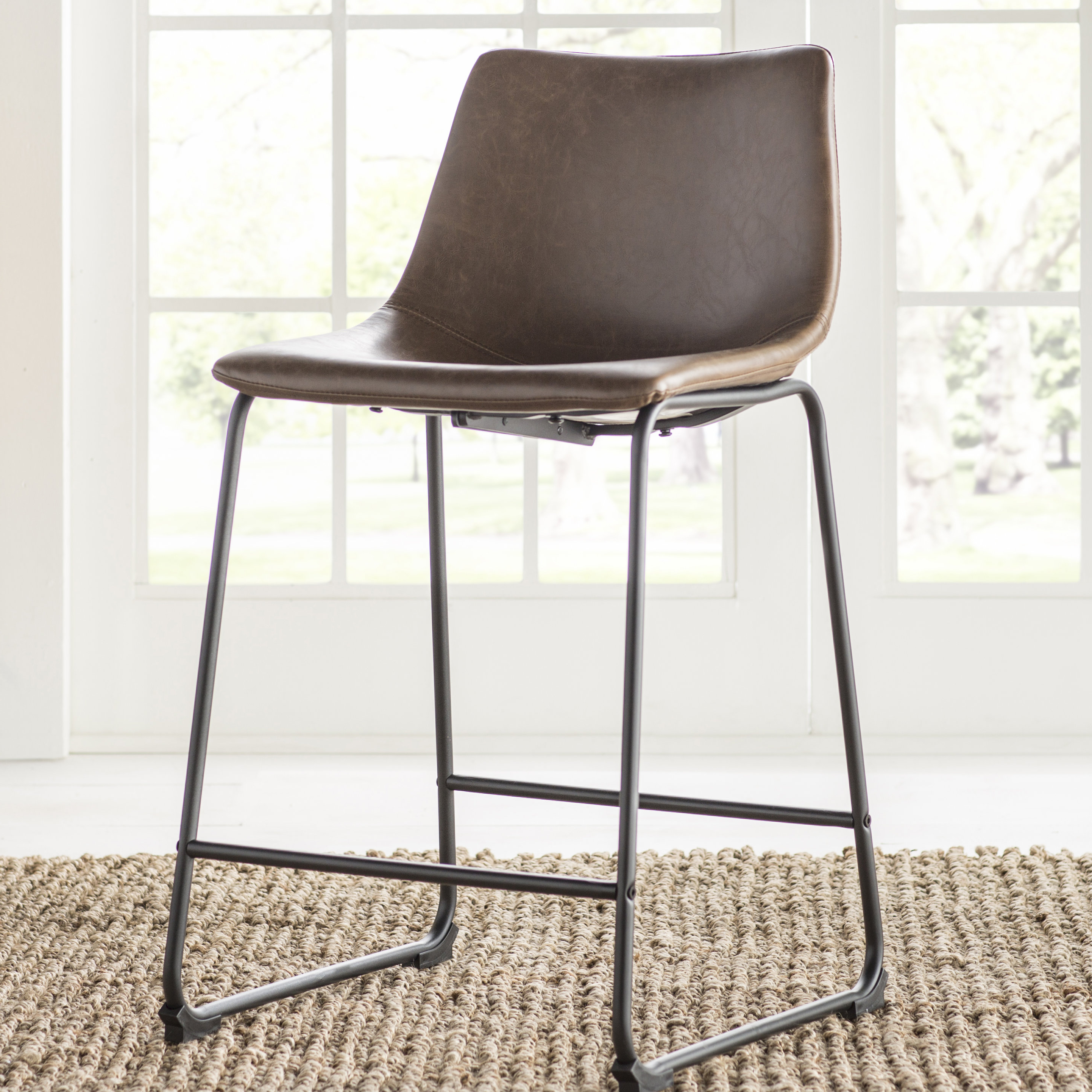 "2019 Mistana Liara 24"" Bar Stool"