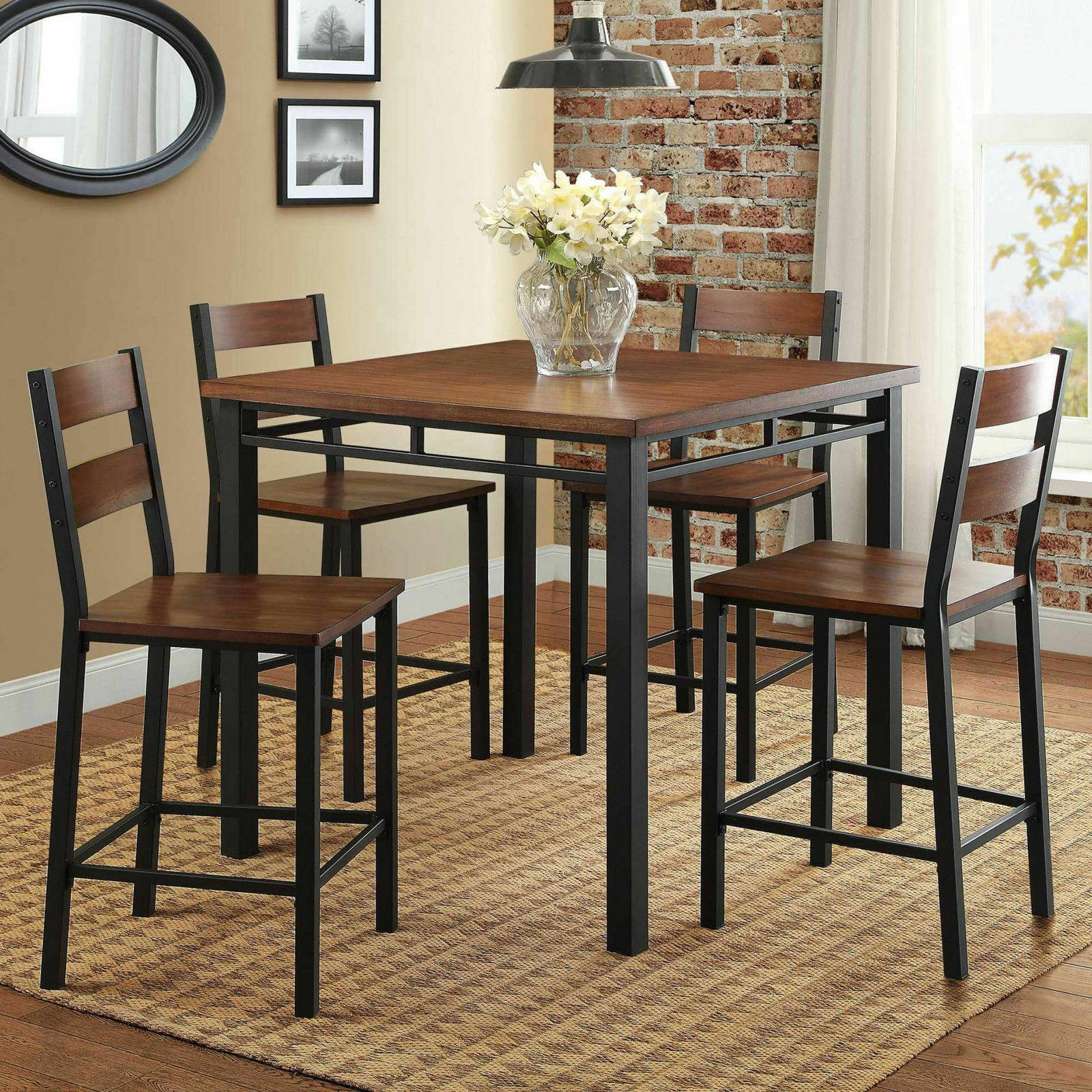2020 5 Piece Counter Height Dining Set (View 5 of 25)