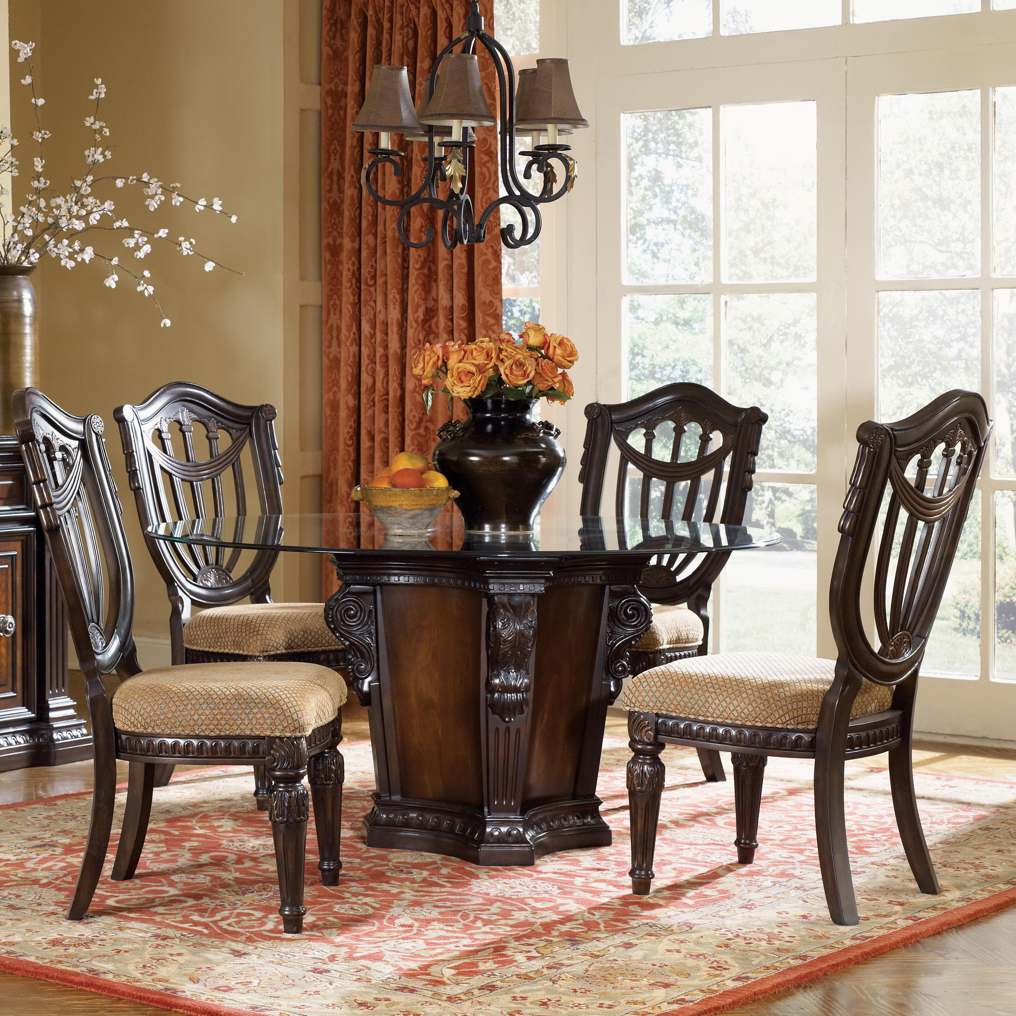 2020 5 Piece Dining Sets regarding Fairmont Designs Grand Estates 5 Piece Dining Table And Chairs Set