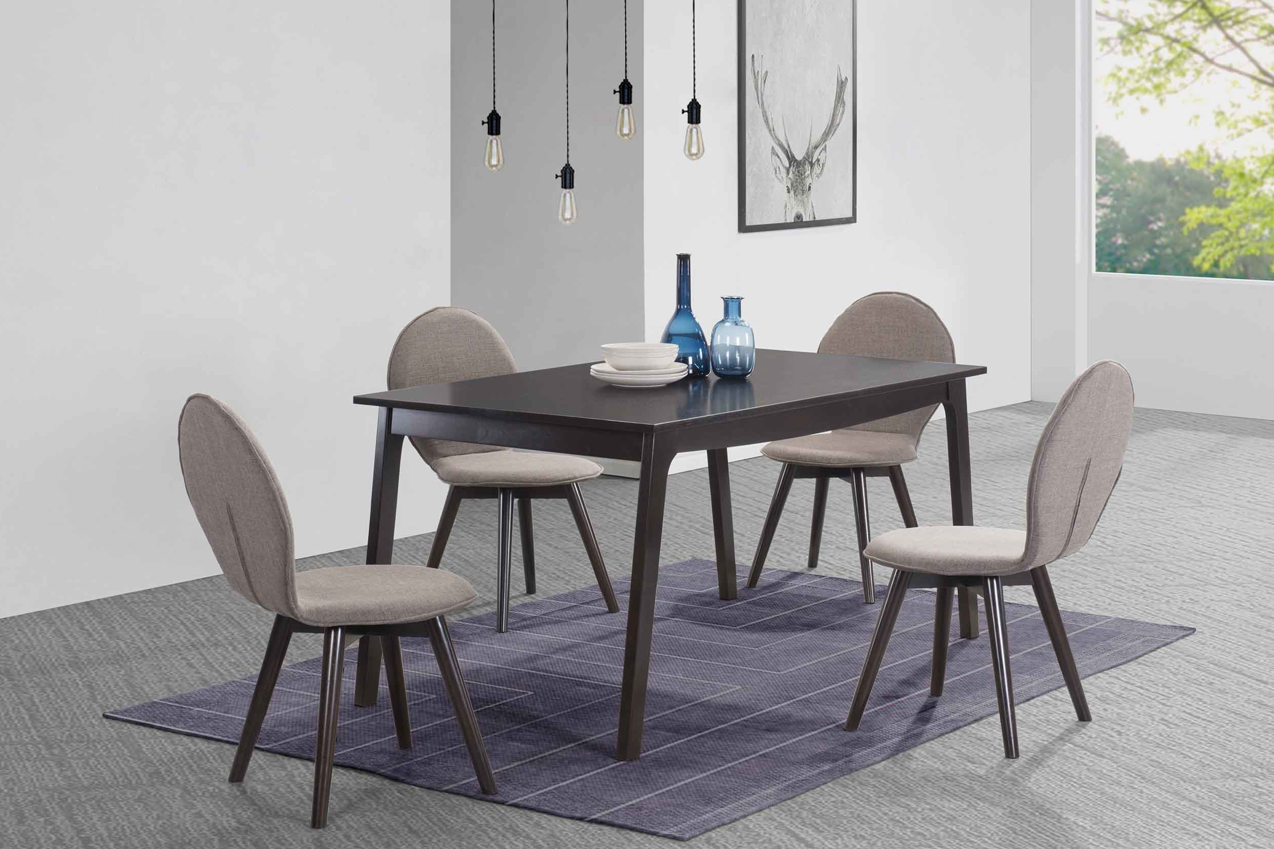 2020 George Oliver Baney 5 Piece Dining Set (View 2 of 25)