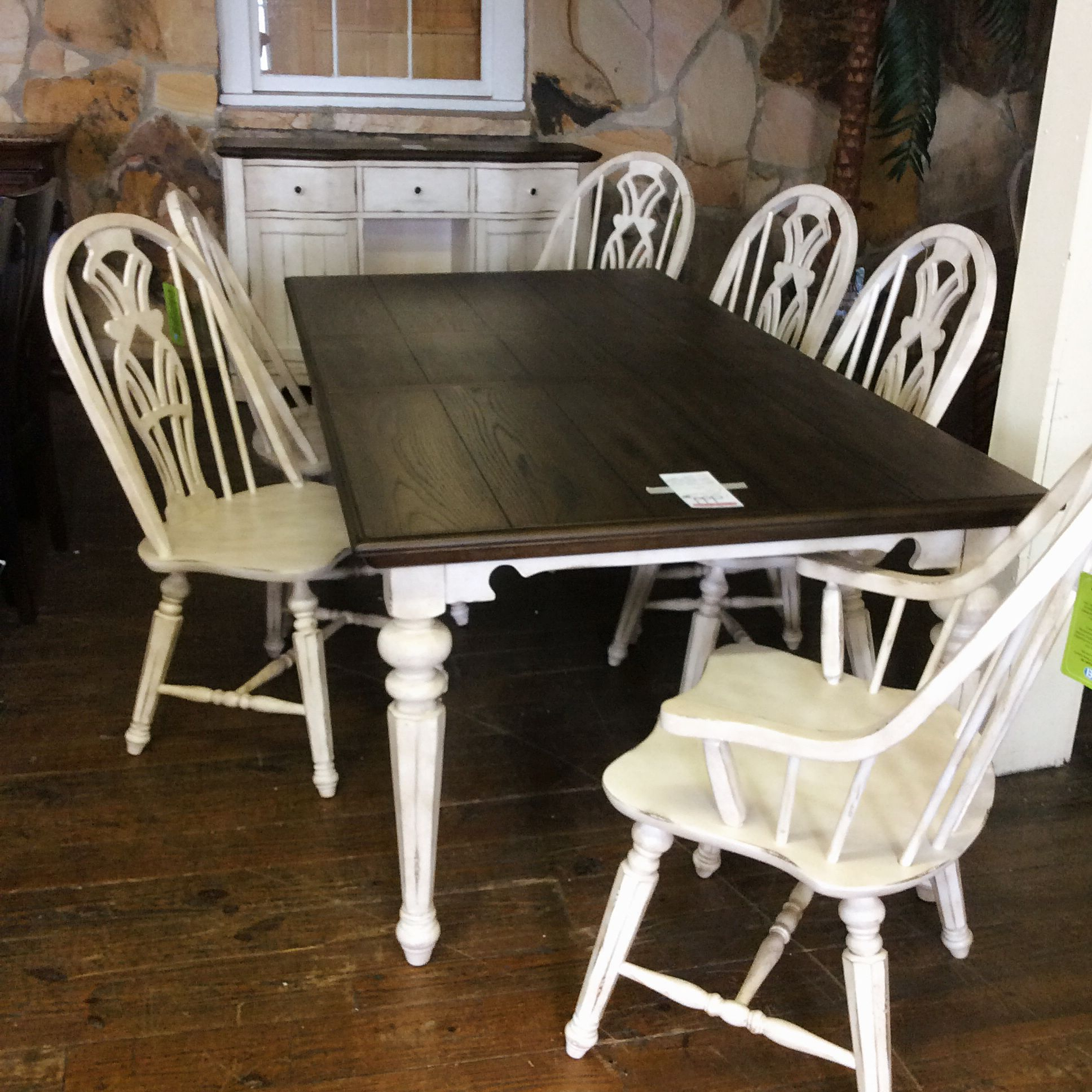 "2020 Maloney 3 Piece Breakfast Nook Dining Sets inside The ""vintage Estates"" Tei, Tennessee Enterprises, Inc., Has So Many"