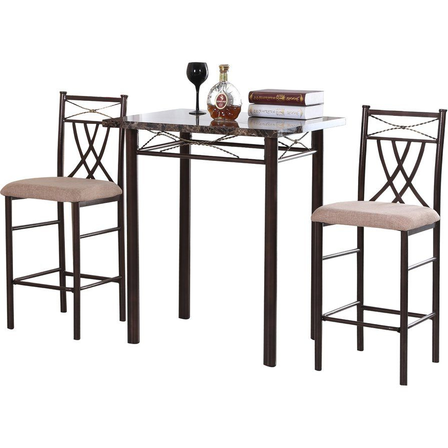 3 Piece Dining Set With Regard To Cincinnati 3 Piece Dining Sets (View 1 of 25)