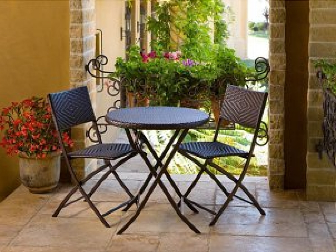 48 Small Compact Dining Sets Outdoor, Patio : Smart Furniture For Newest Cincinnati 3 Piece Dining Sets (Gallery 10 of 25)