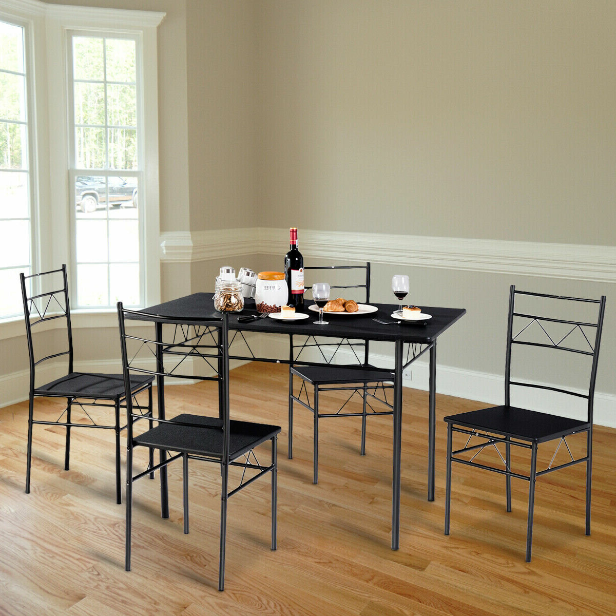 5 Piece Breakfast Nook Dining Sets With Regard To Fashionable August Grove Helfer 5 Piece Breakfast Nook Dining Set (View 22 of 25)