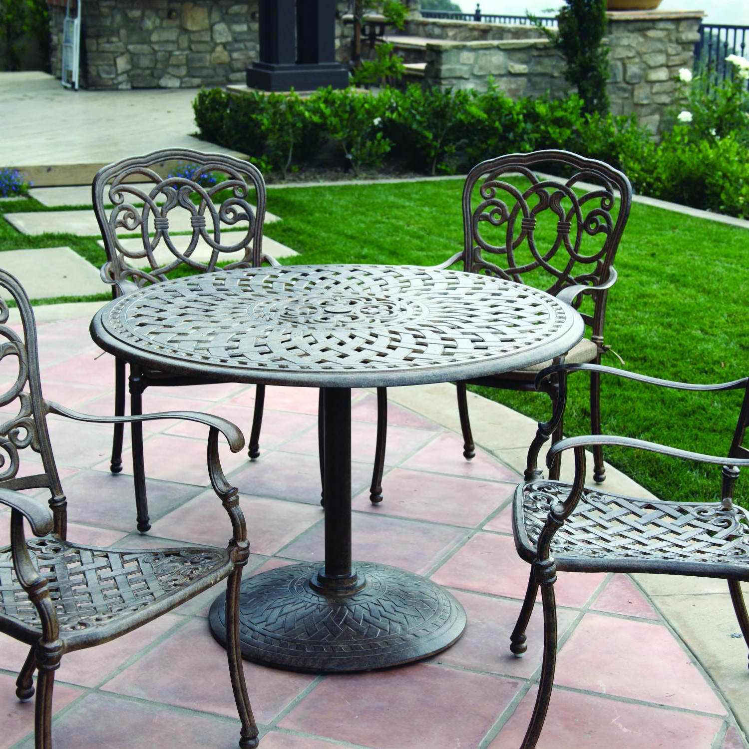 5 Piece Dining Set, Outdoor Dining (Gallery 7 of 25)