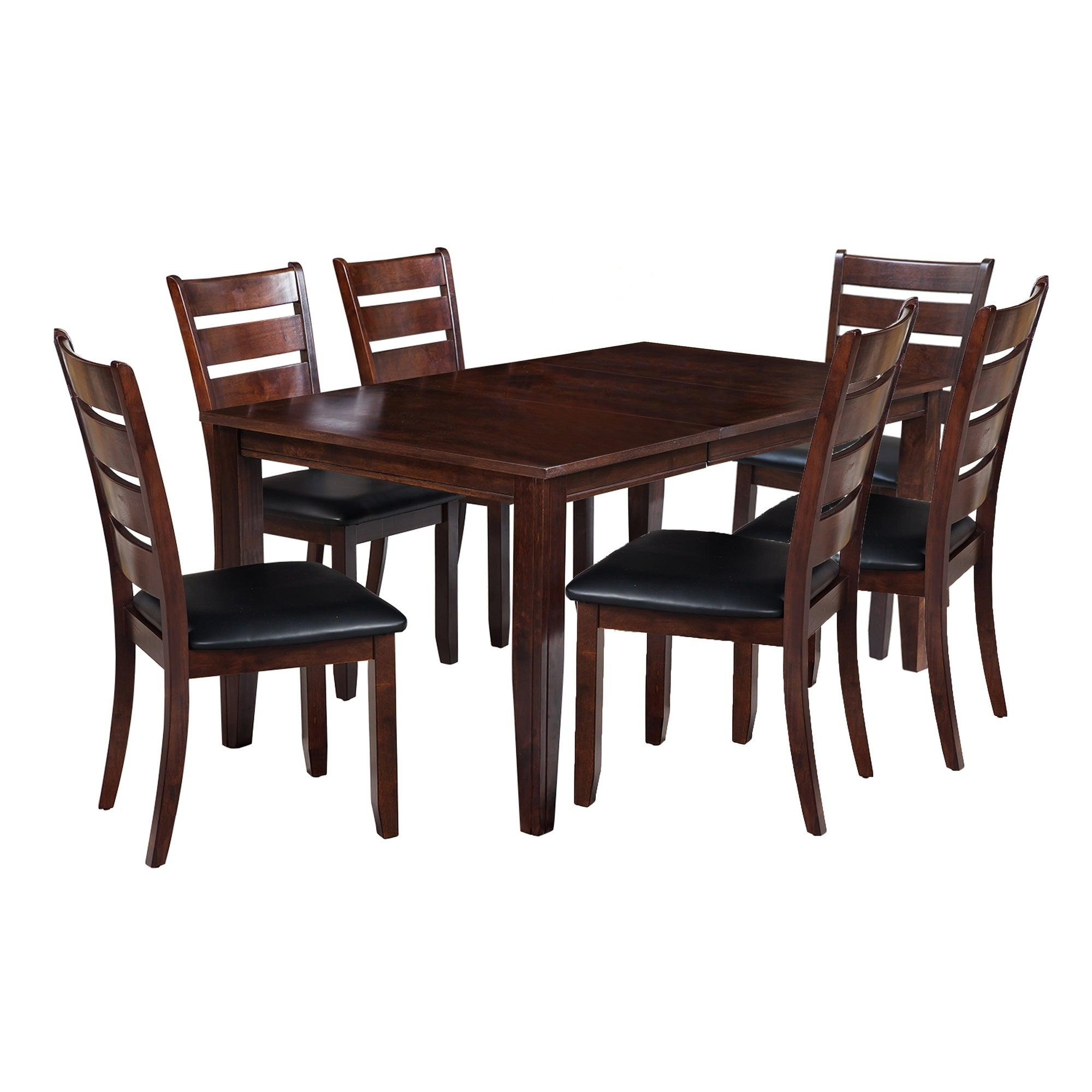 """Adan 5 Piece Solid Wood Dining Sets (Set Of 5) For Most Recently Released Shop 7 Piece Solid Wood Dining Set """"aden"""", Modern Kitchen Table Set (View 2 of 25)"""