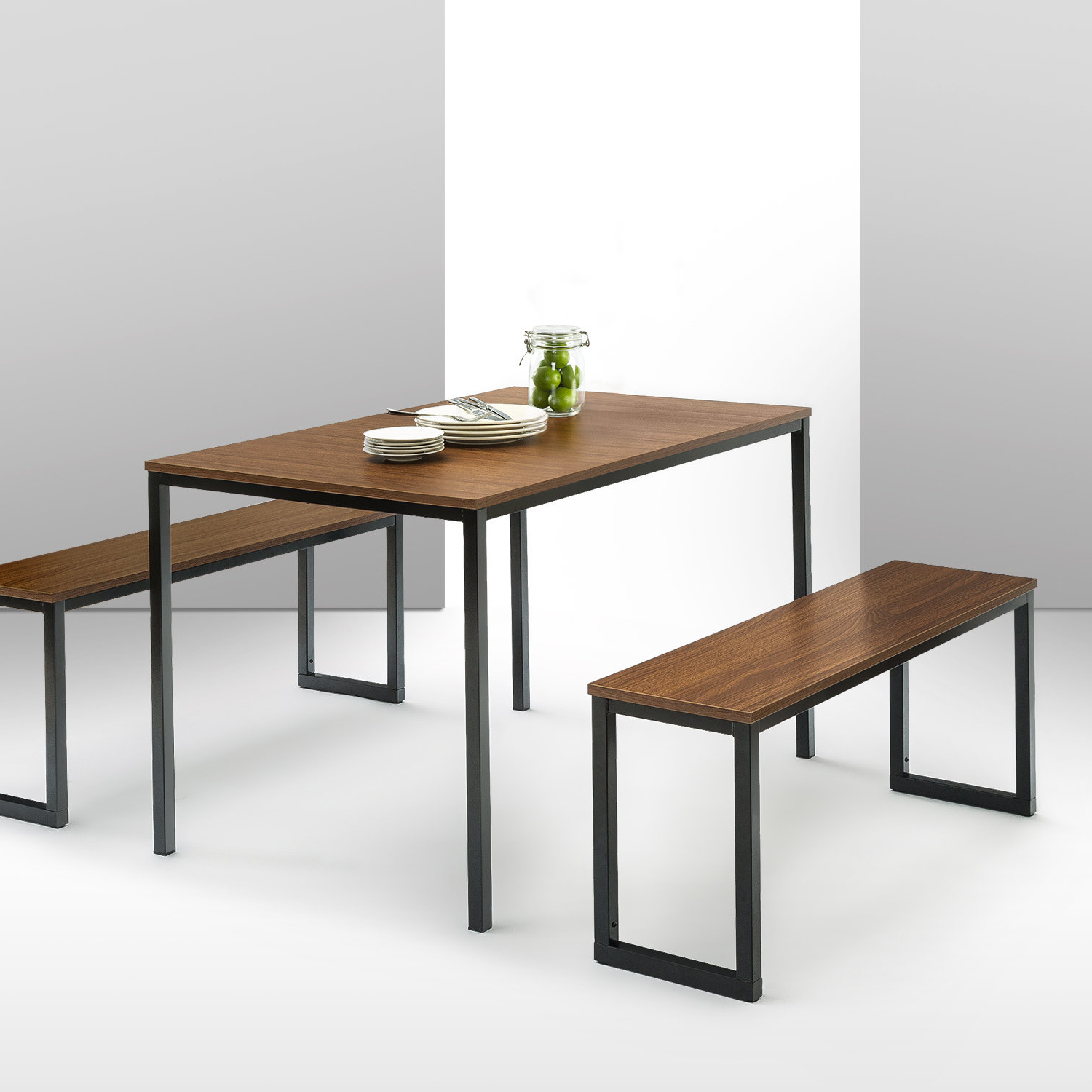 Allmodern Within Ryker 3 Piece Dining Sets (View 6 of 25)