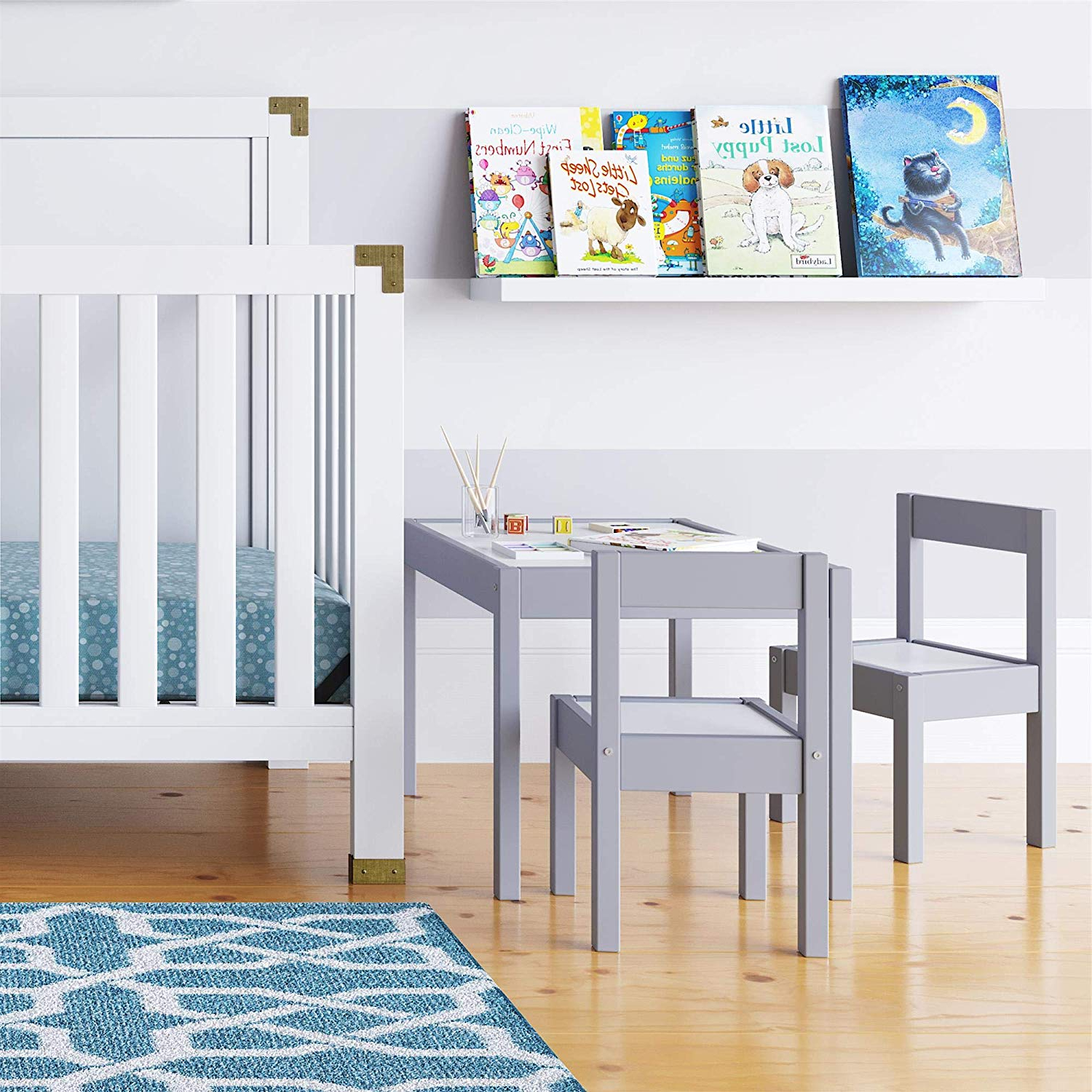 Amazon: Baby Relax Hunter 3 Piece Kiddy Table And Chair Set Regarding Recent Springfield 3 Piece Dining Sets (View 21 of 25)