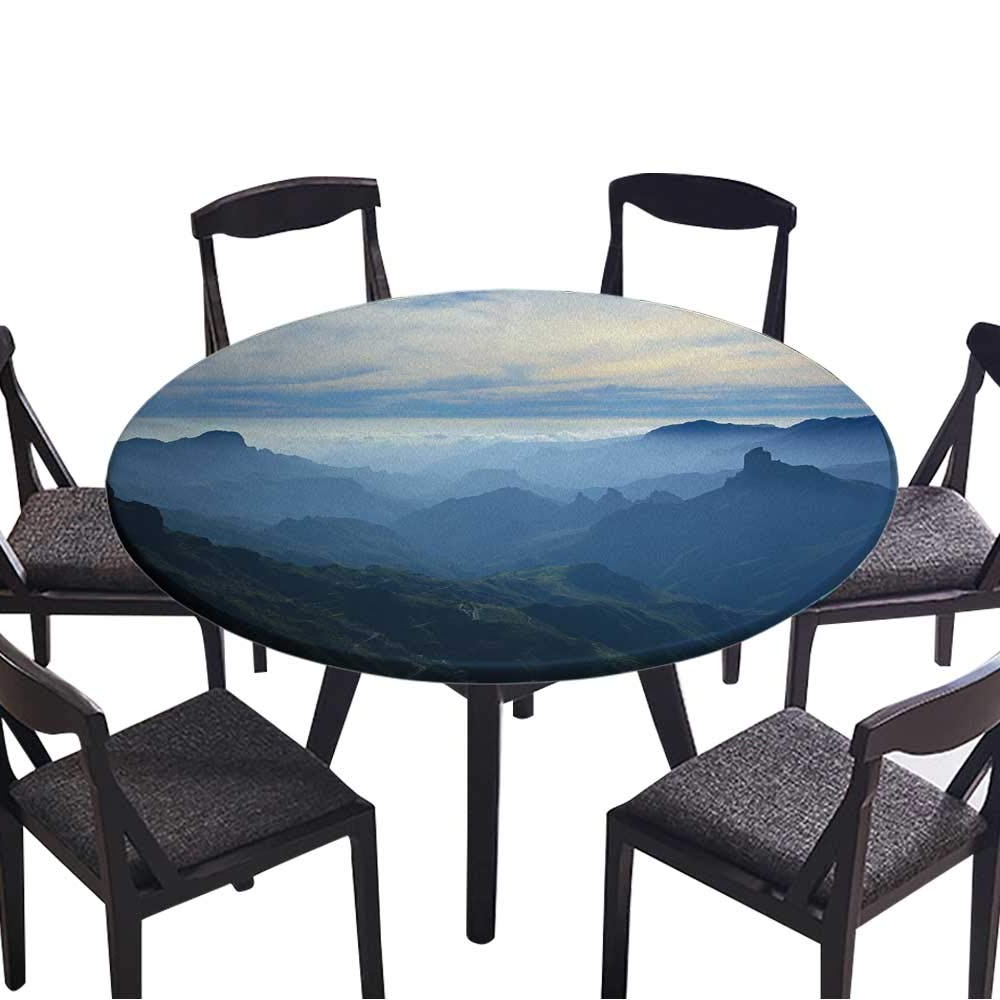 Amazon: Simple Modern Round Table Cloth Gran Canaria,caldera De With 2020 Tejeda 5 Piece Dining Sets (View 18 of 25)