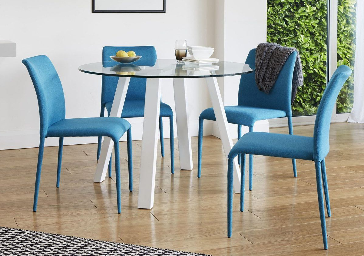 Amir 5 Piece Solid Wood Dining Sets (Set Of 5) Regarding Trendy Dining Table Guide: How To Choose The Perfect Dining Table For Your (View 8 of 25)