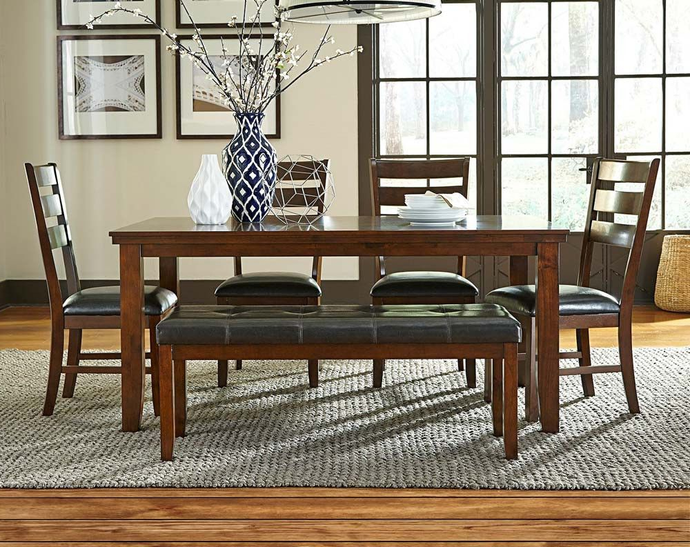 Anniston 5 Piece Dining Set (View 4 of 25)
