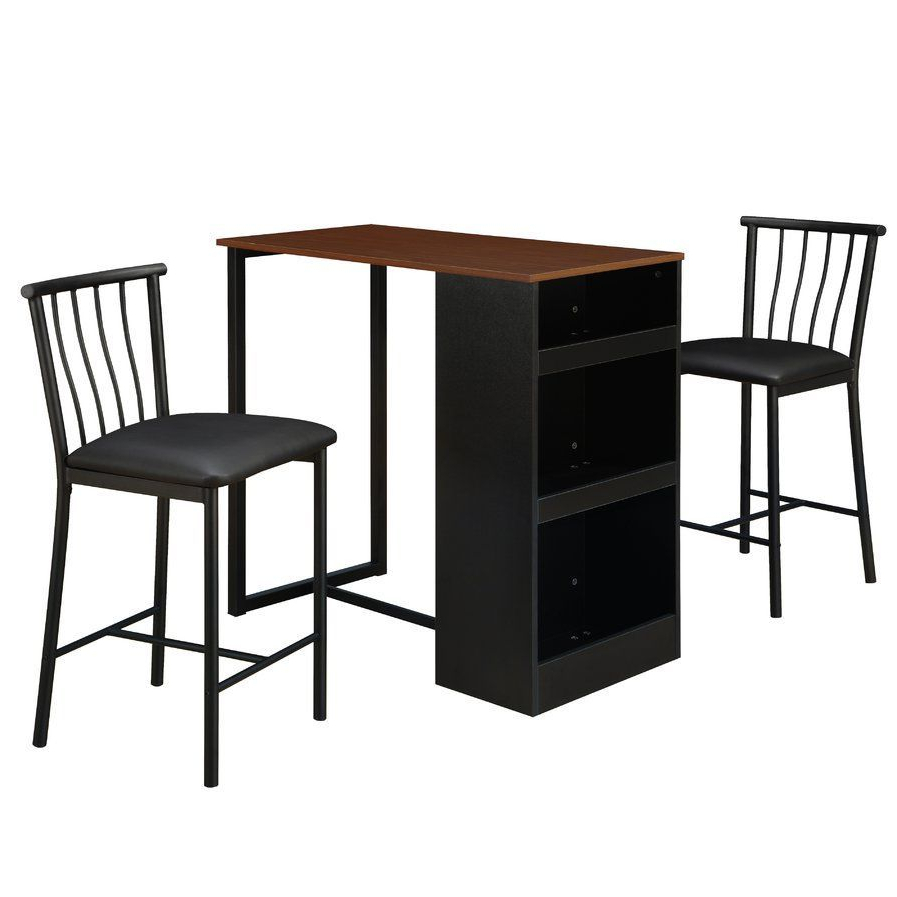 Apartment With Regard To Moorehead 3 Piece Counter Height Dining Sets (View 2 of 25)