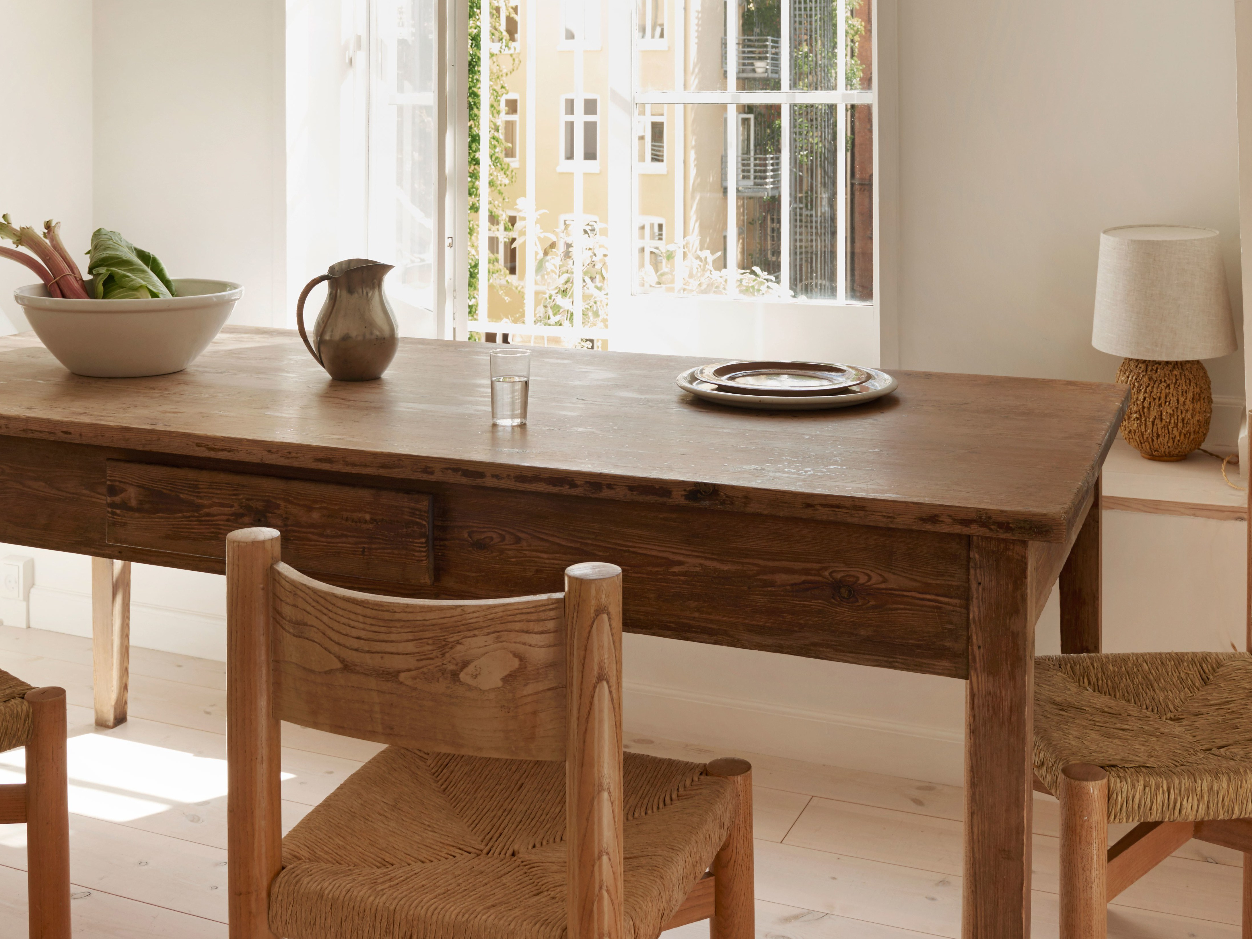 Architectural Digest In Falmer 3 Piece Solid Wood Dining Sets (View 3 of 25)