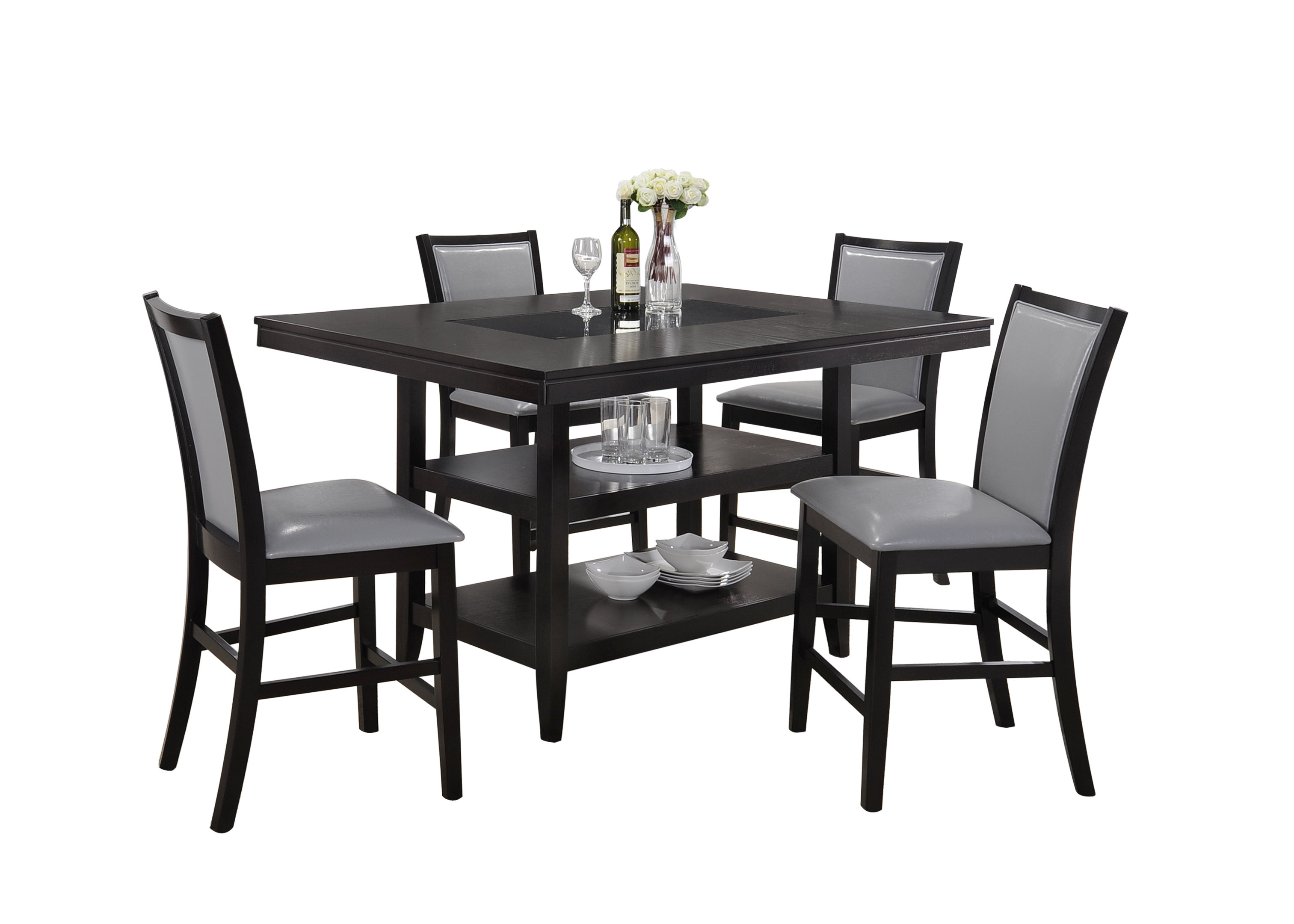 Ashton 5 Piece Dining Set & Reviews (View 5 of 25)