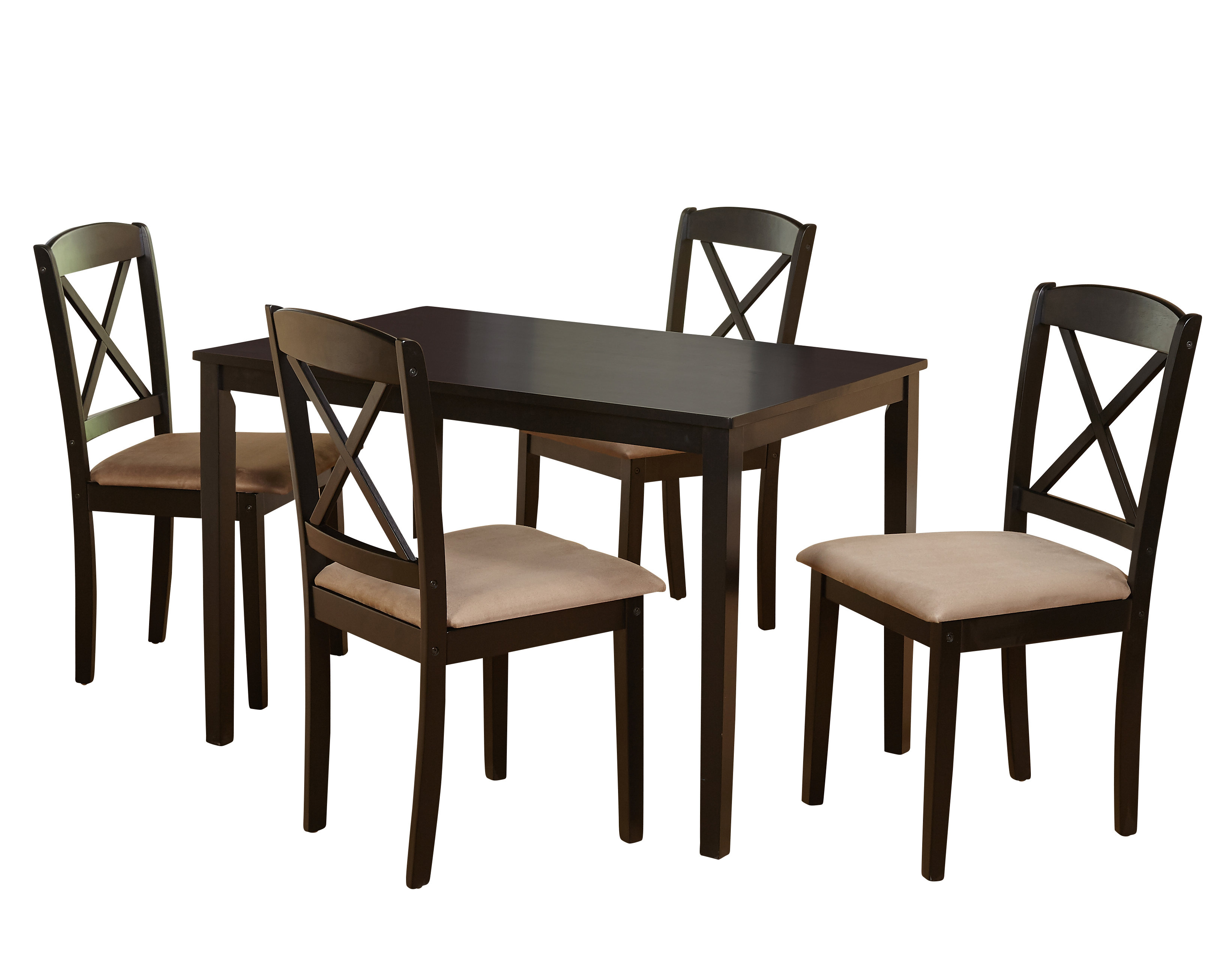 August Grove Scarlett 5 Piece Dining Set & Reviews (View 15 of 25)