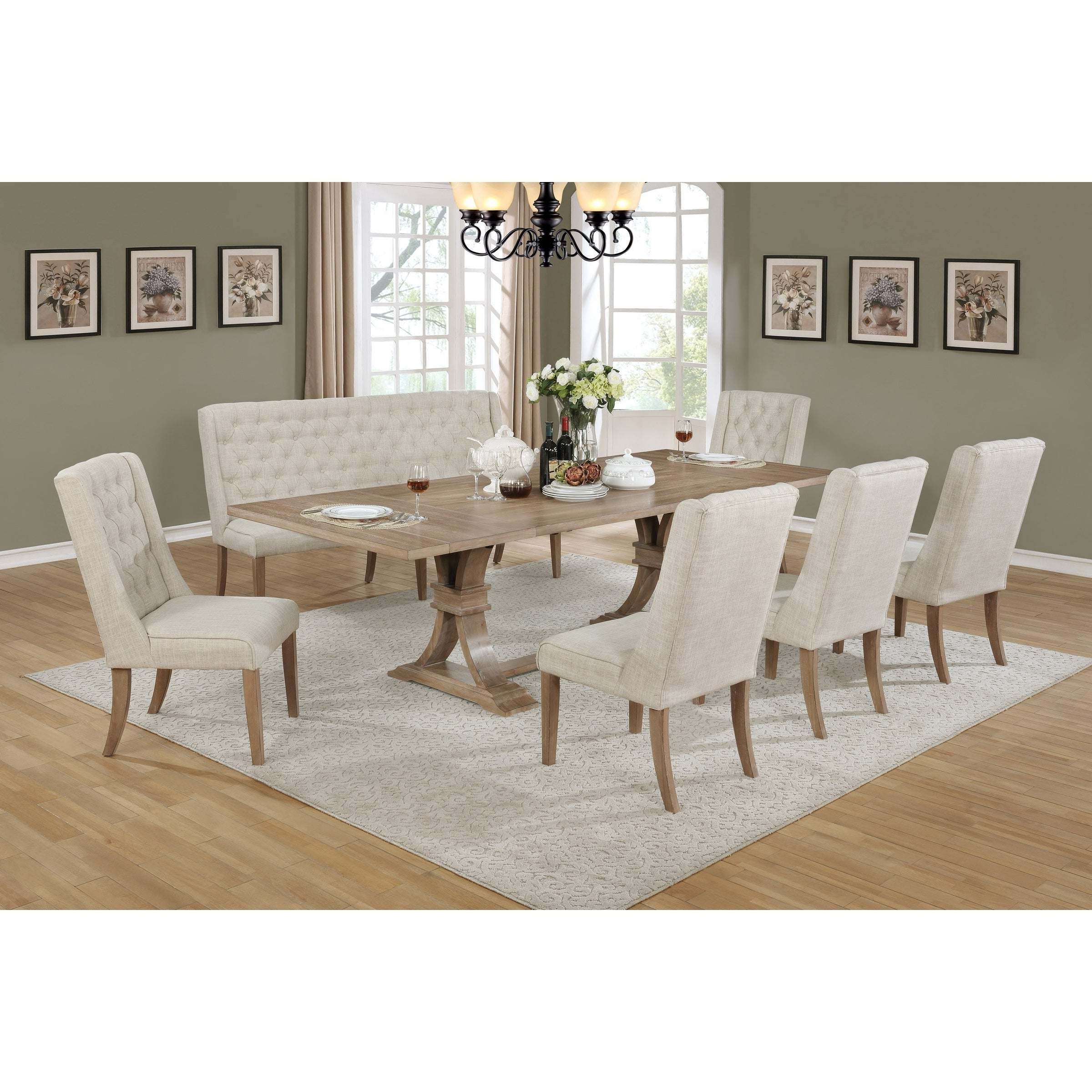 Autberry 5 Piece Dining Sets With Regard To Well Known Buy 7 Piece Sets Kitchen & Dining Room Sets Online At Overstock (View 11 of 25)