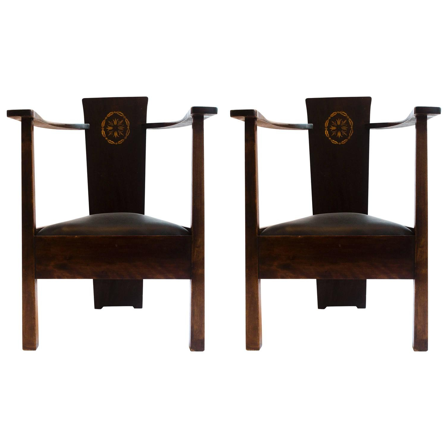 Baillie 3 Piece Dining Sets With Most Recent Mackay Hugh Baillie Scott Furniture – 6 For Sale At 1Stdibs (View 17 of 25)
