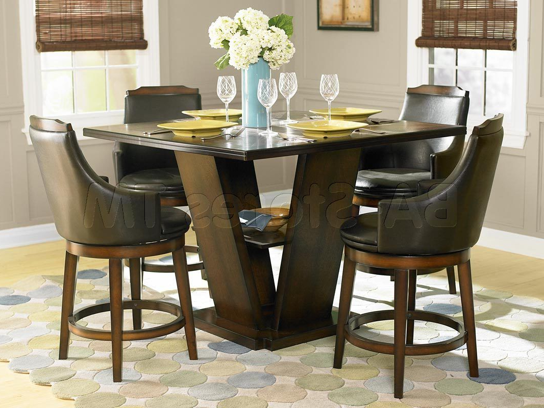 Bar, Pub Pertaining To Most Recent Winsted 4 Piece Counter Height Dining Sets (View 10 of 25)