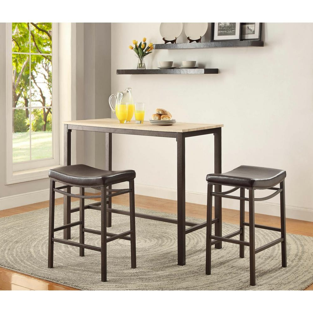Bar Tables Sets – Necrom In Latest Crownover 3 Piece Bar Table Sets (View 14 of 25)